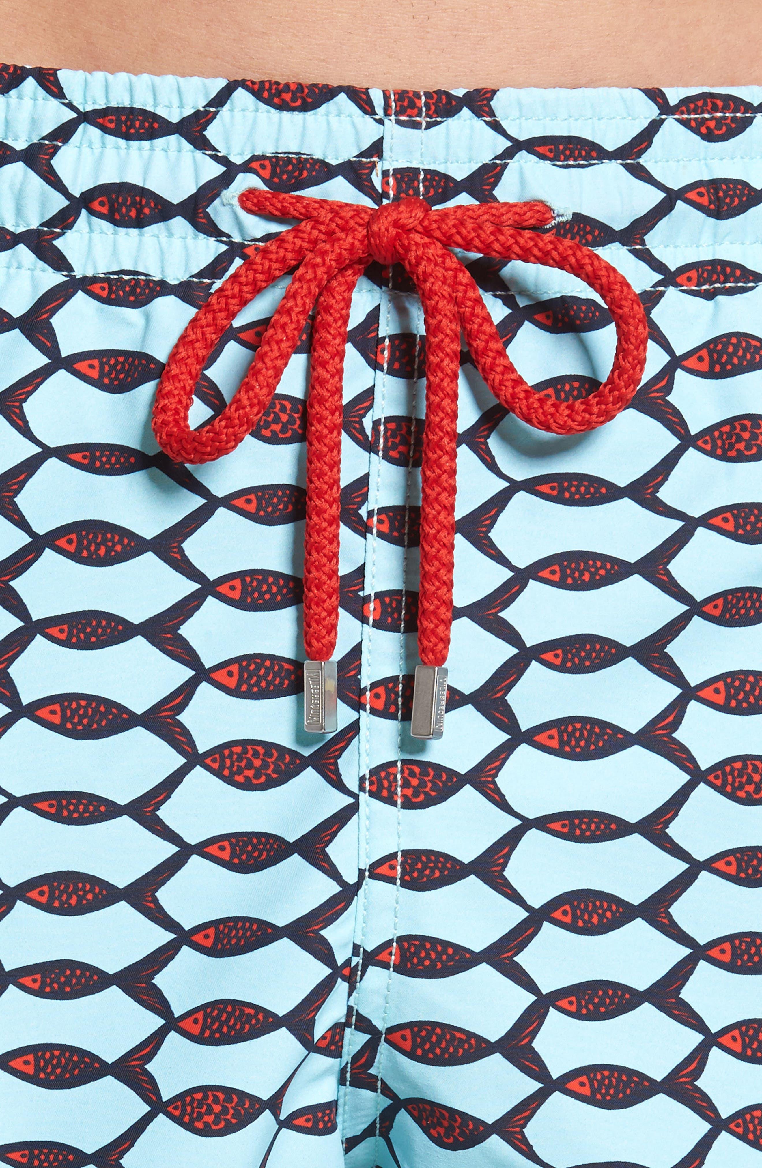 Alternate Image 4  - Vilebrequin Moorea Fishnet Print Swim Trunks