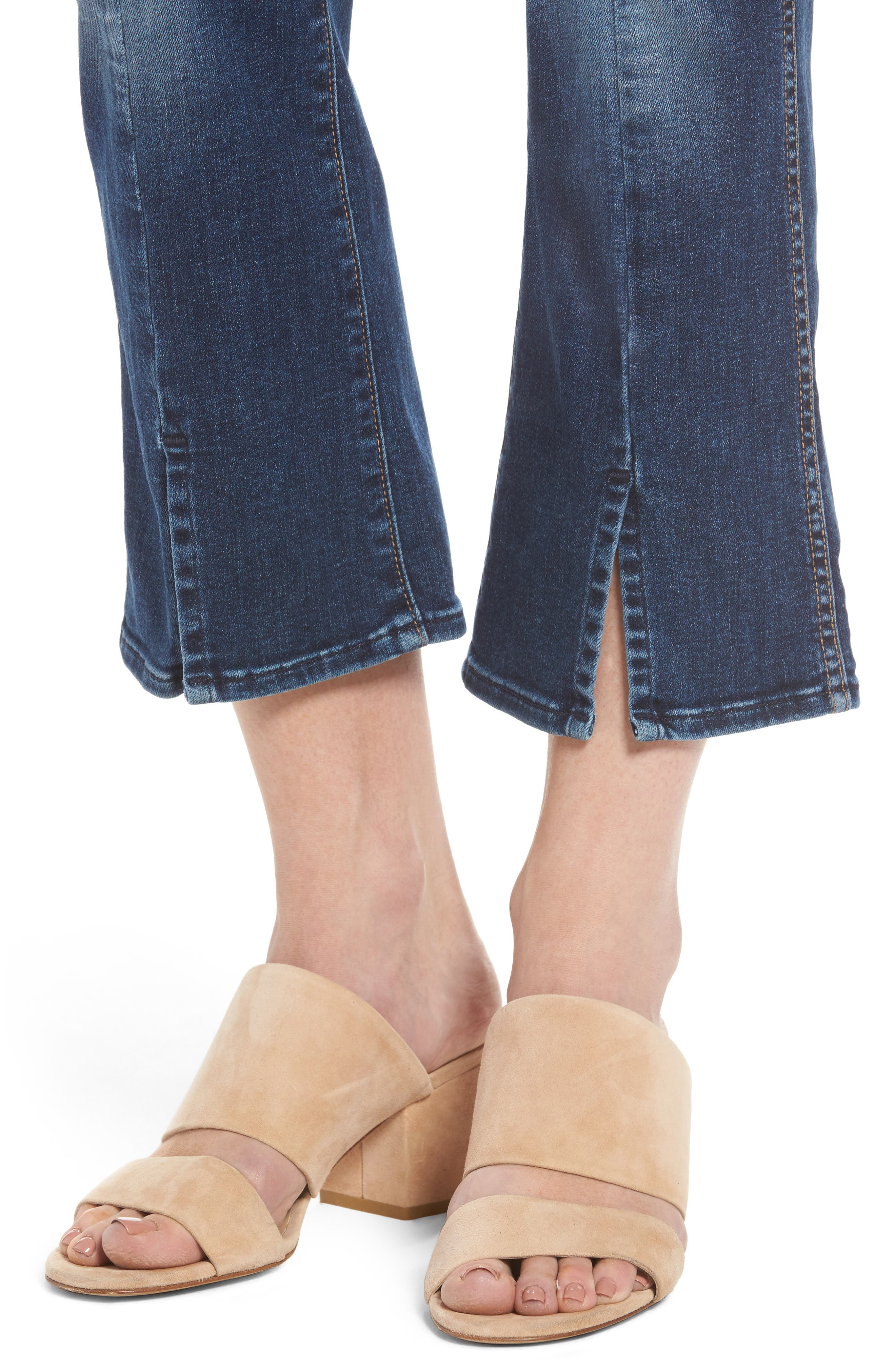 Crop Bootcut Jeans,                             Alternate thumbnail 4, color,                             Stunning Bleeker 3- Stu3