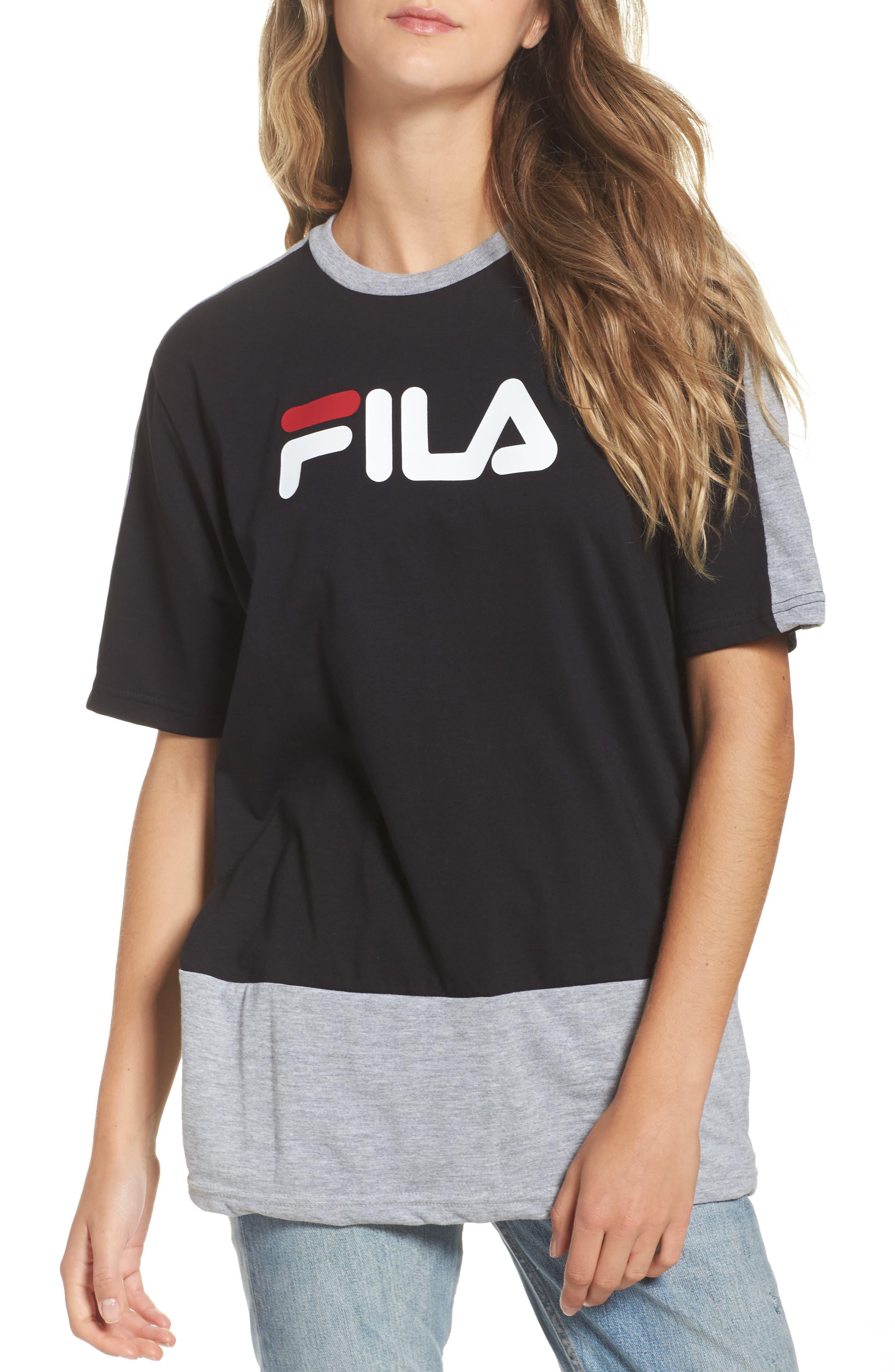 Main Image - FILA Reba Cut & Sew Tee