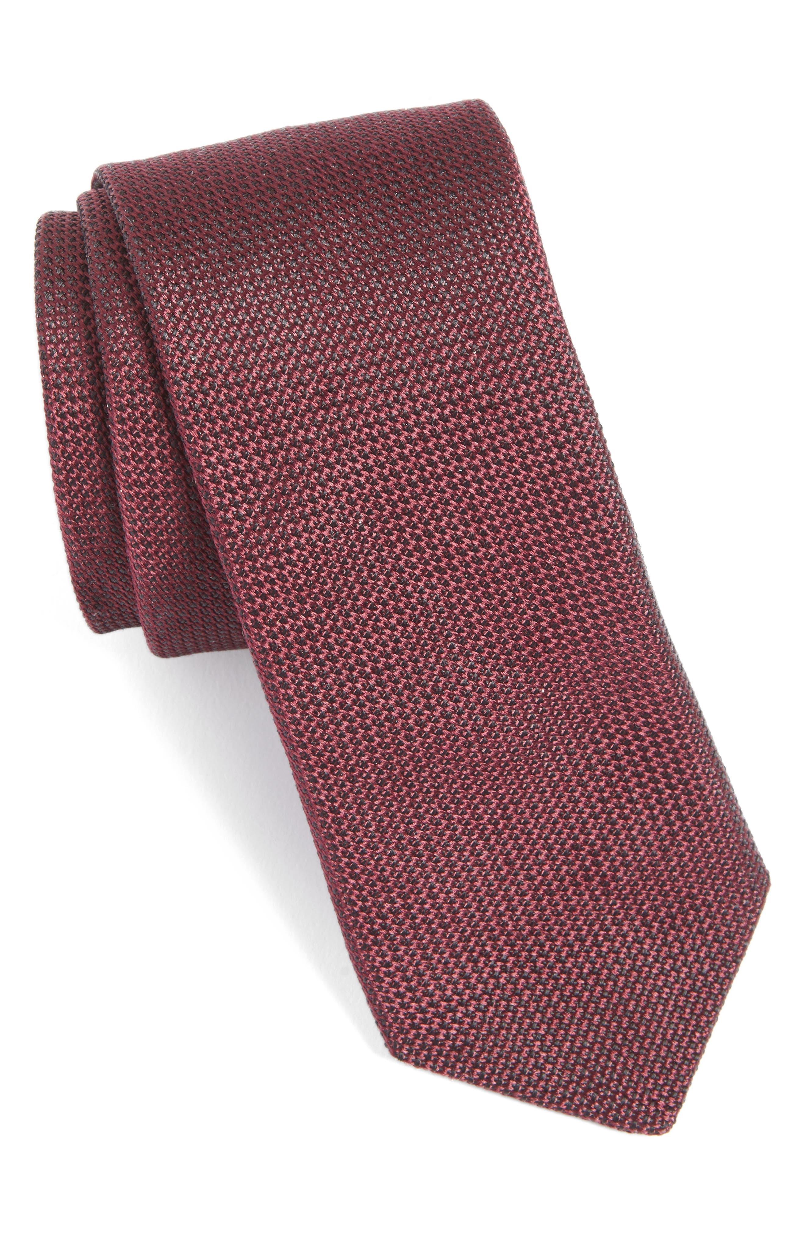 Alternate Image 1 Selected - Ted Baker London Solid Silk Tie