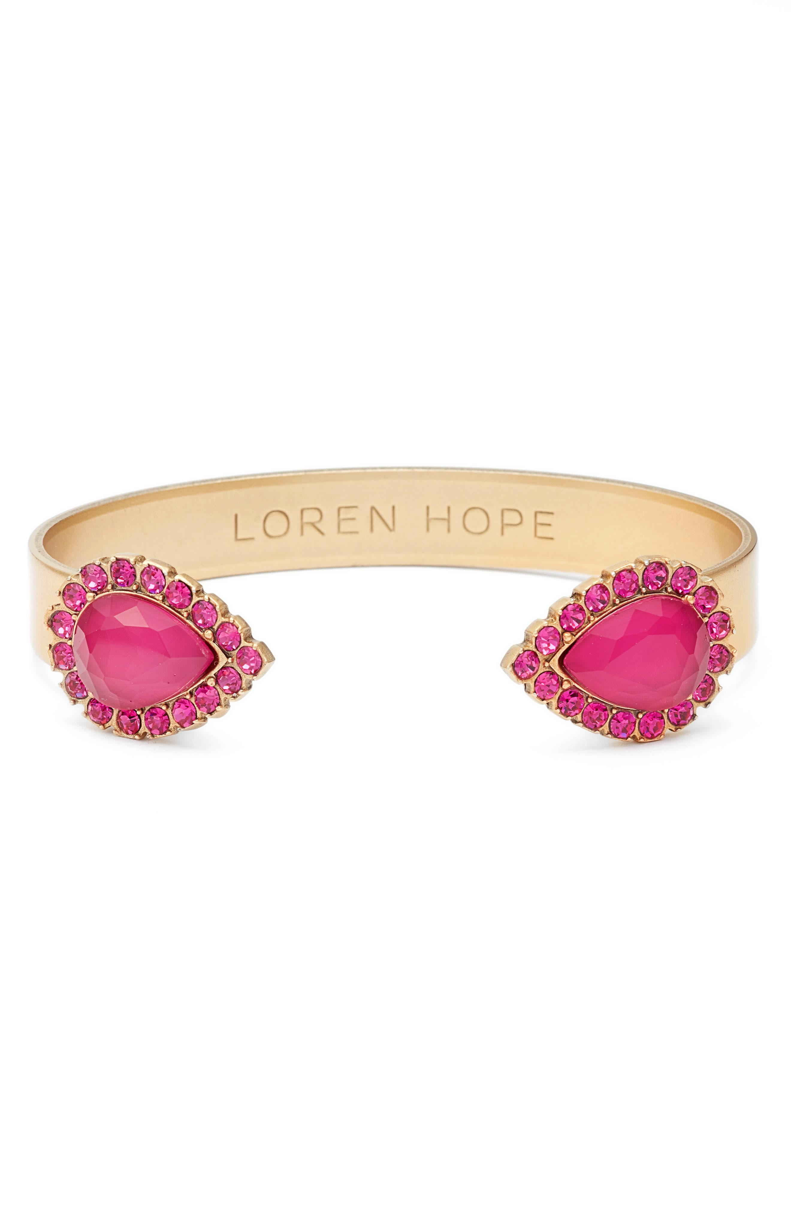 Alternate Image 1 Selected - Loren Hope 'Sarra' Crystal Cuff