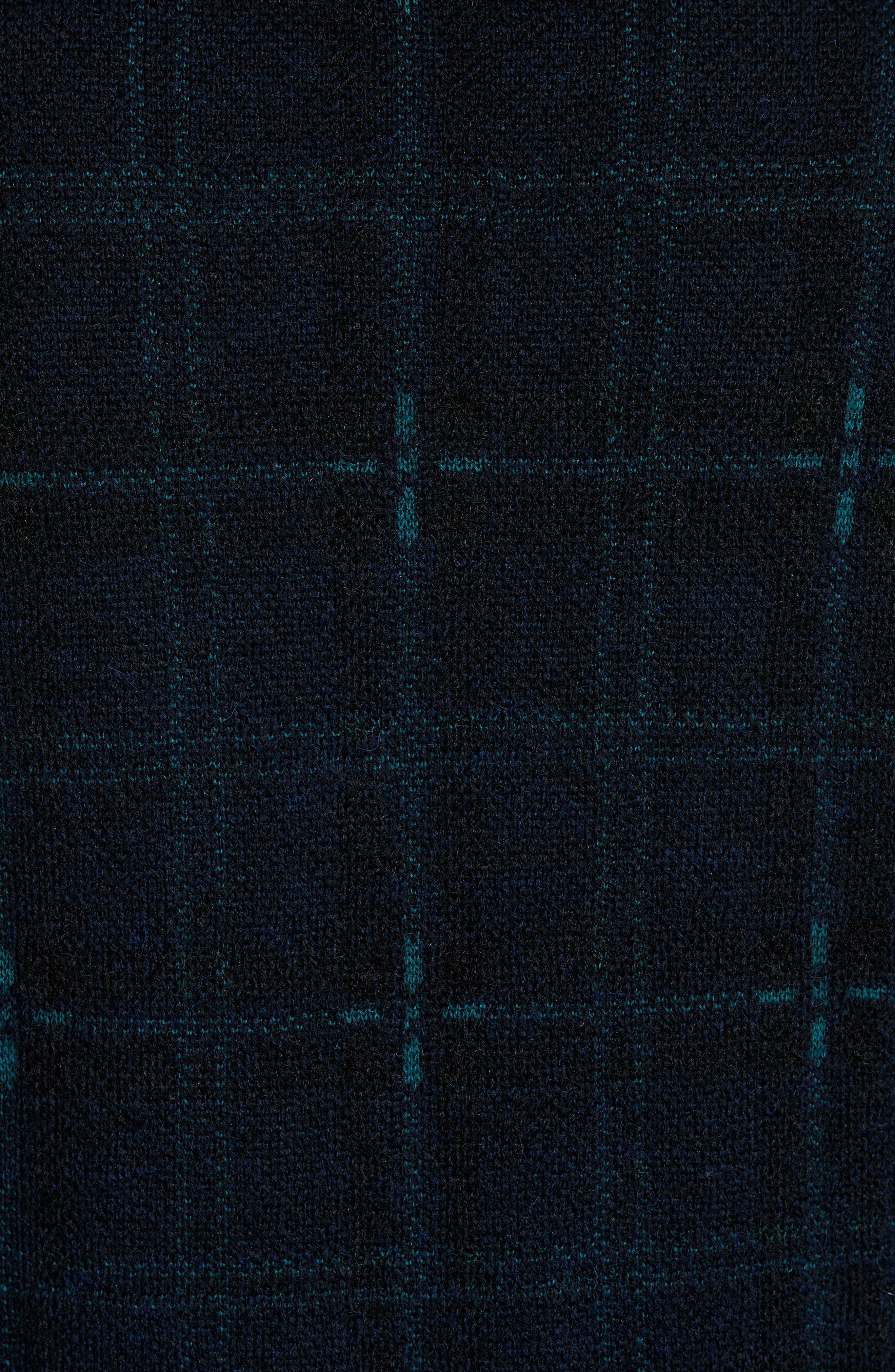 Wool Blend Knit Sportcoat,                             Alternate thumbnail 5, color,                             Navy