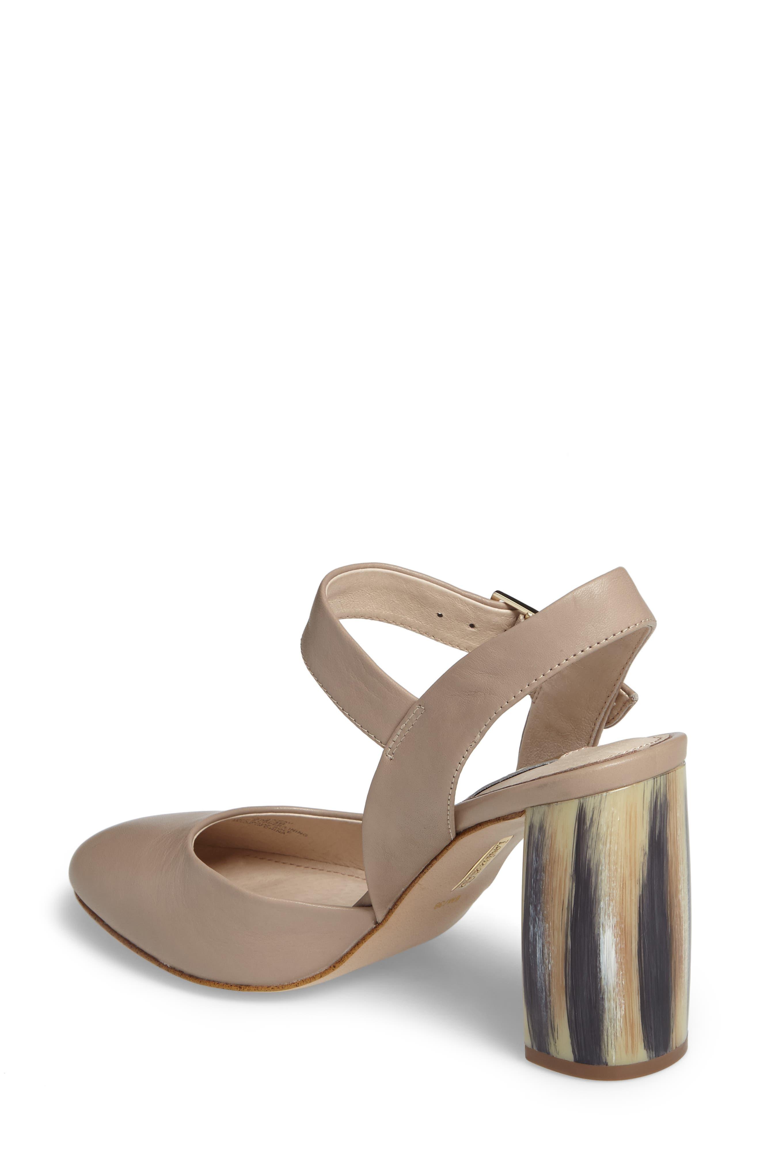 Alternate Image 2  - Louise et Cie Juveau Crescent Heel Pump (Women)