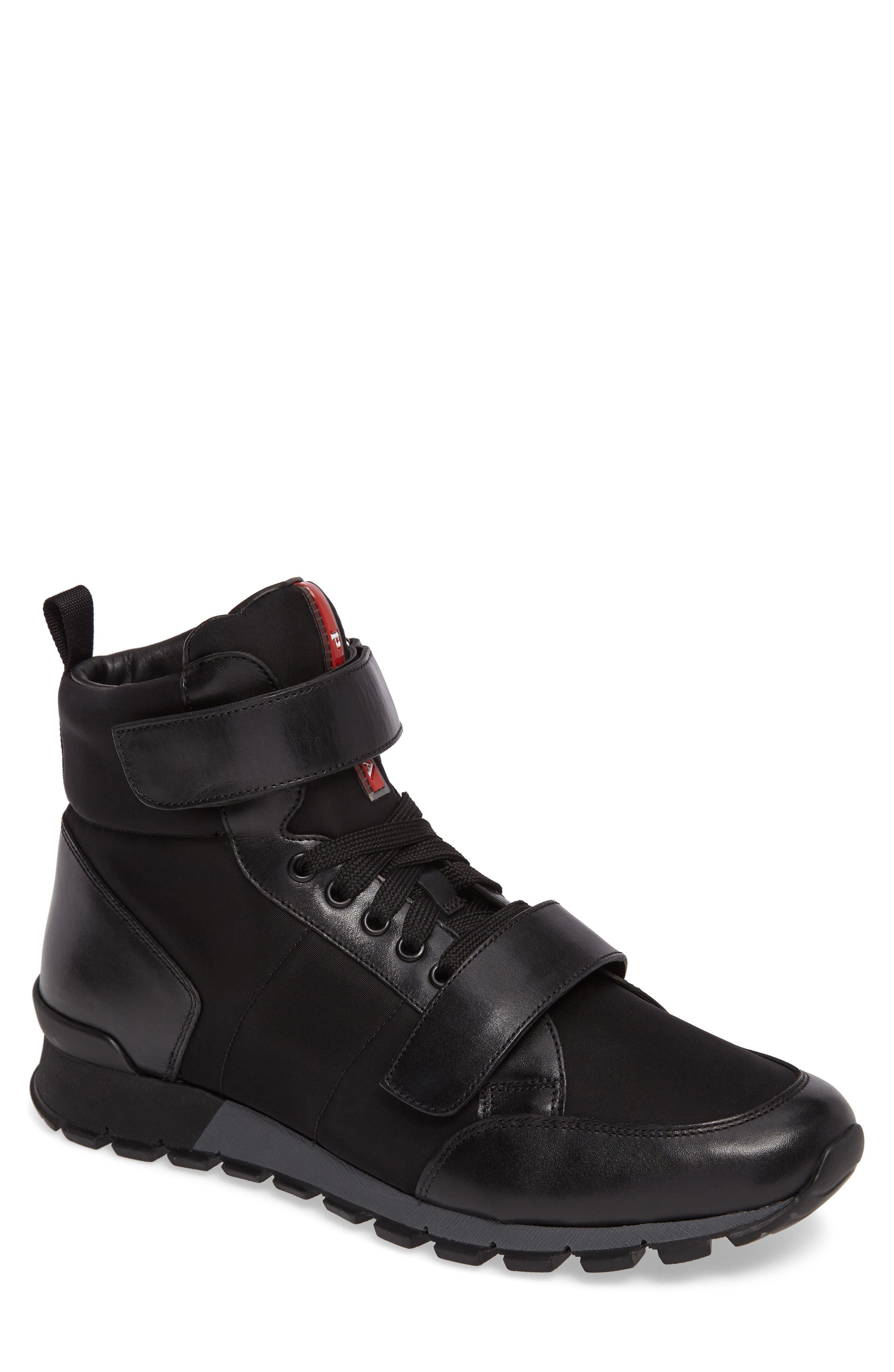 PRADA LINEA ROSSA Prada High Top Sneaker