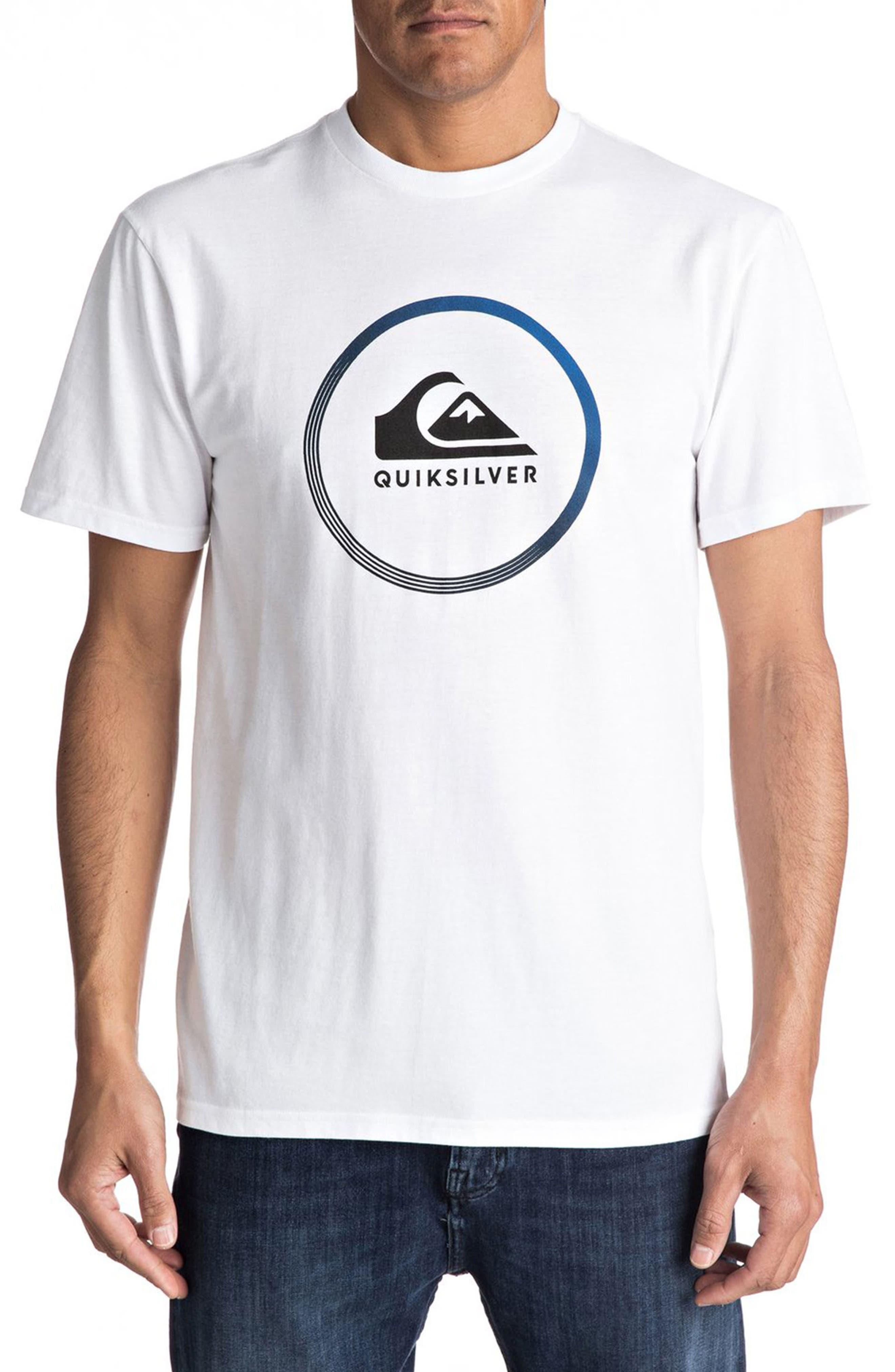 Quiksilver Logo Graphic T-Shirt