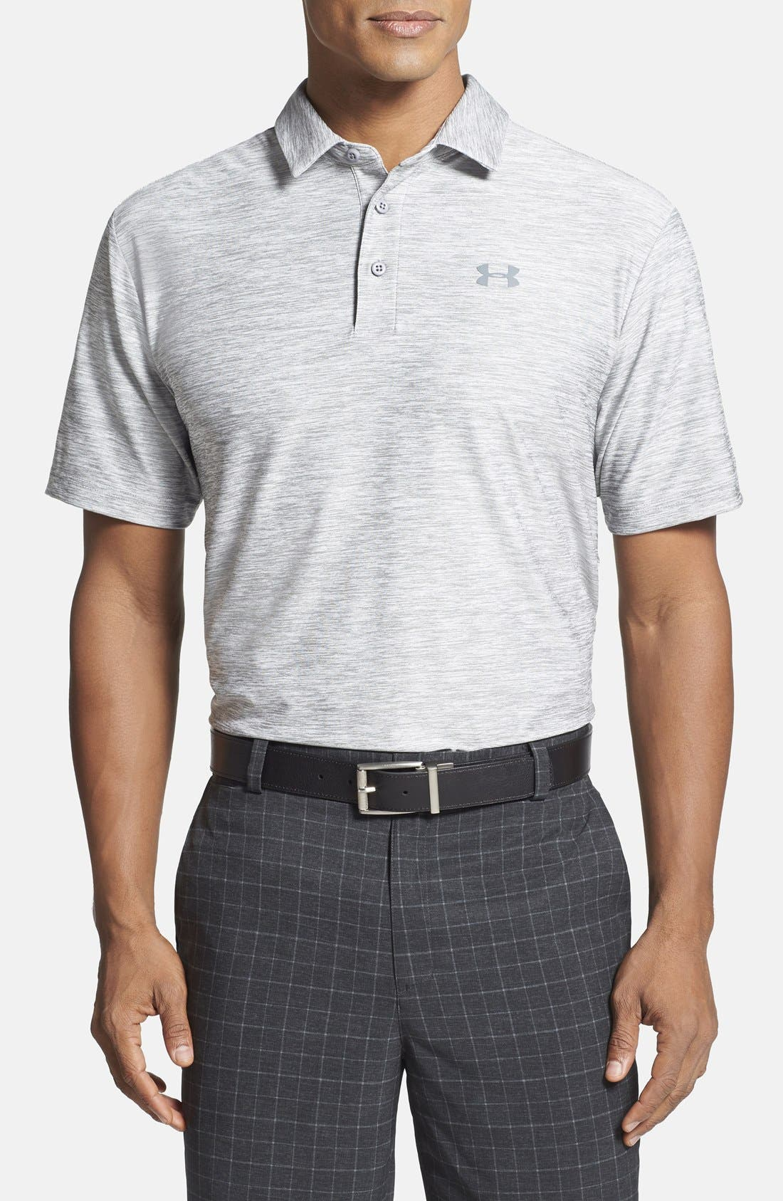 Under Armour 'Playoff' Loose Fit Short Sleeve Polo