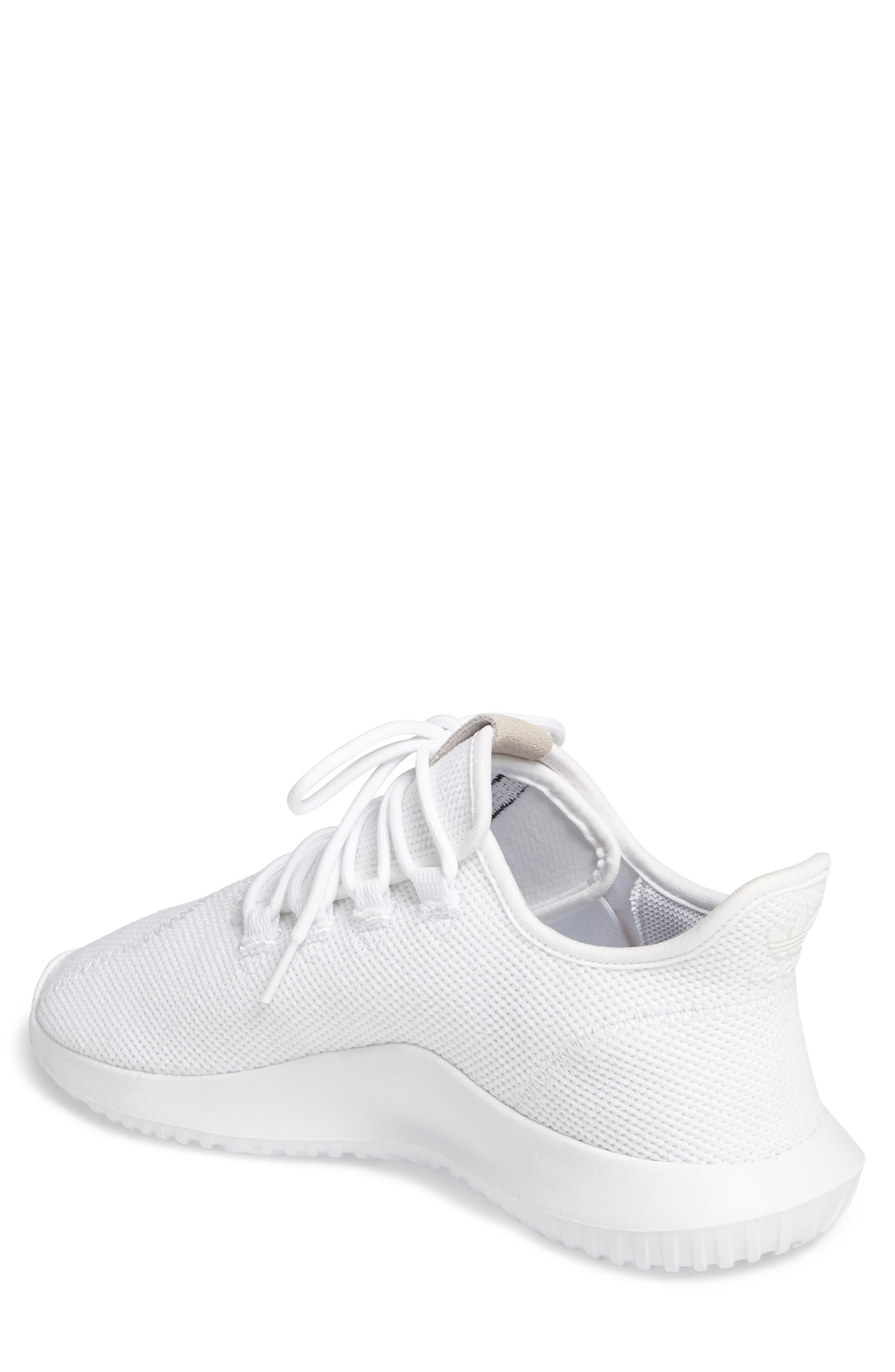 Tubular Shadow Sneaker,                             Alternate thumbnail 2, color,                             White/ Core Black/ White