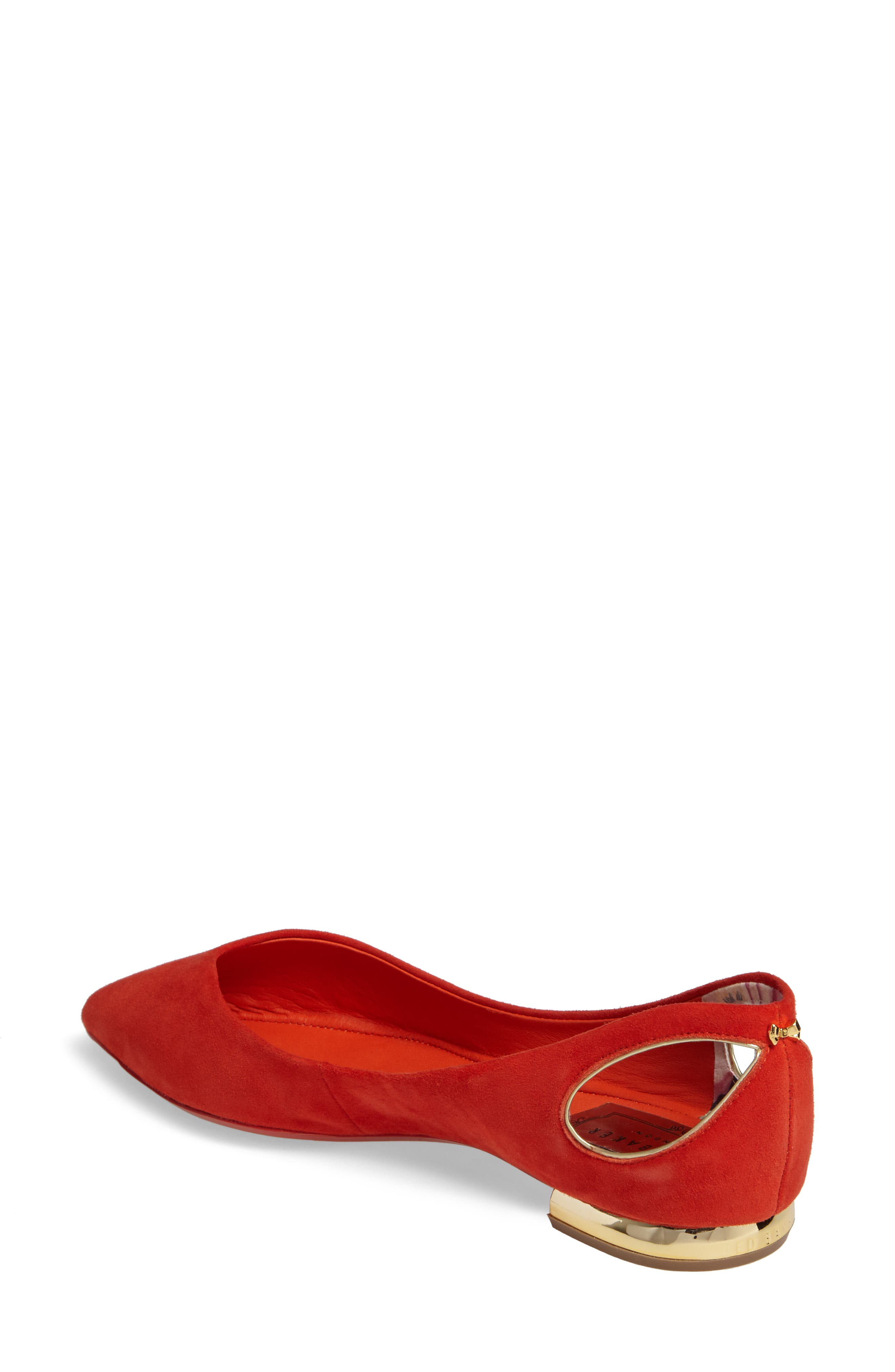 Alternate Image 2  - Ted Baker London Dabih Pointy Toe Flat (Women)