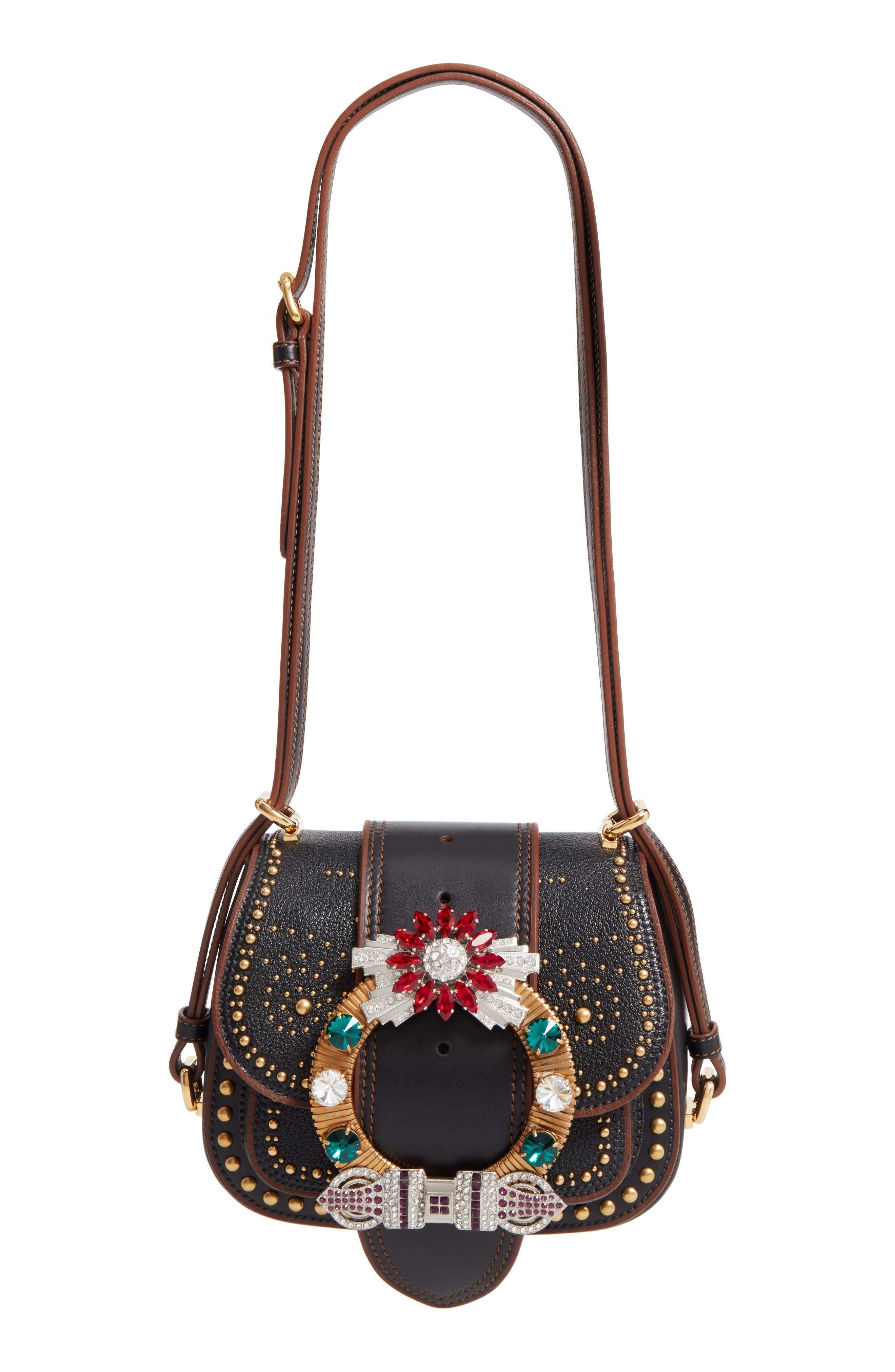 Miu Miu Matelasse Flap Bag