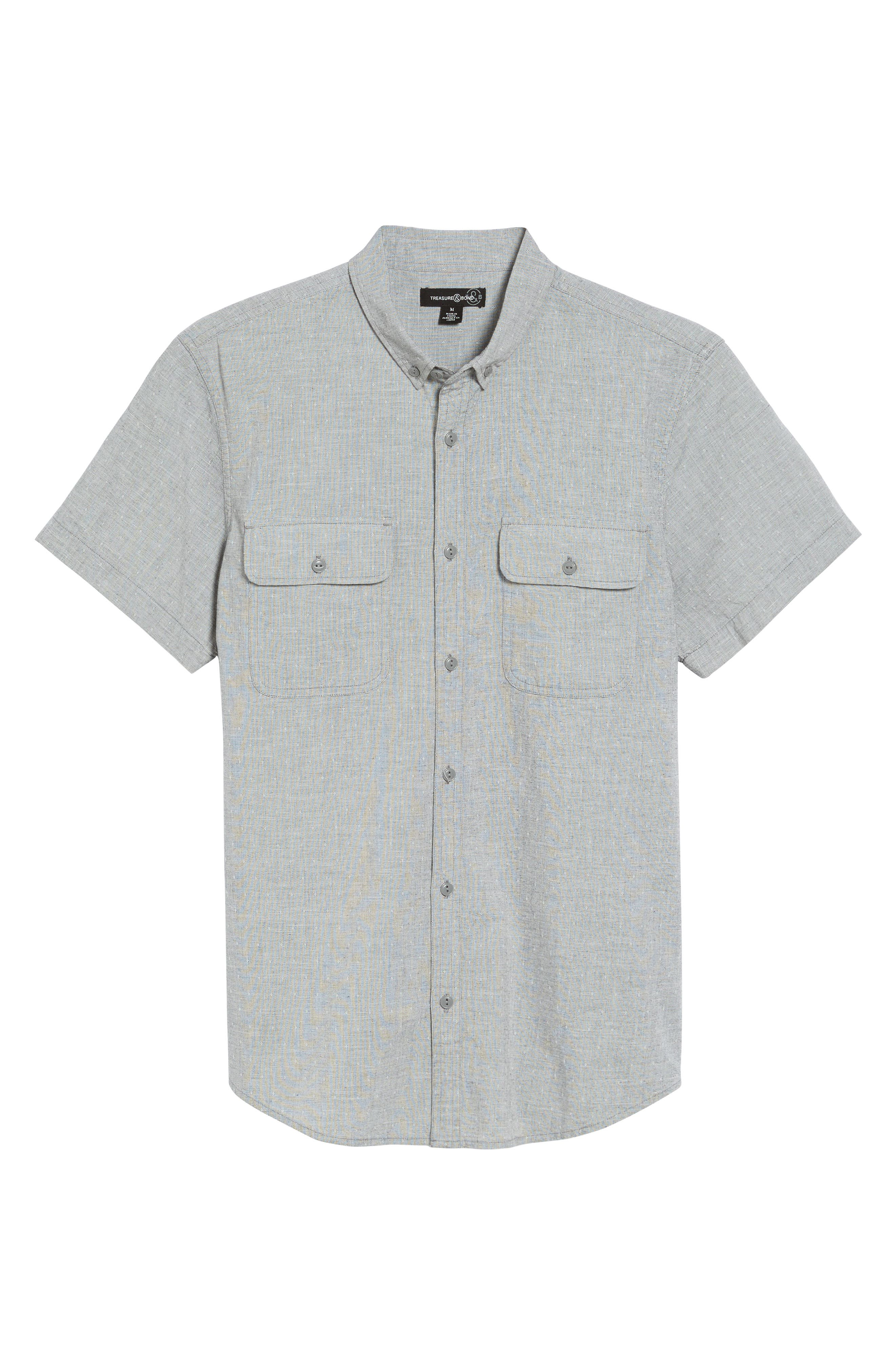Alternate Image 6  - Treasure & Bond Woven Shirt