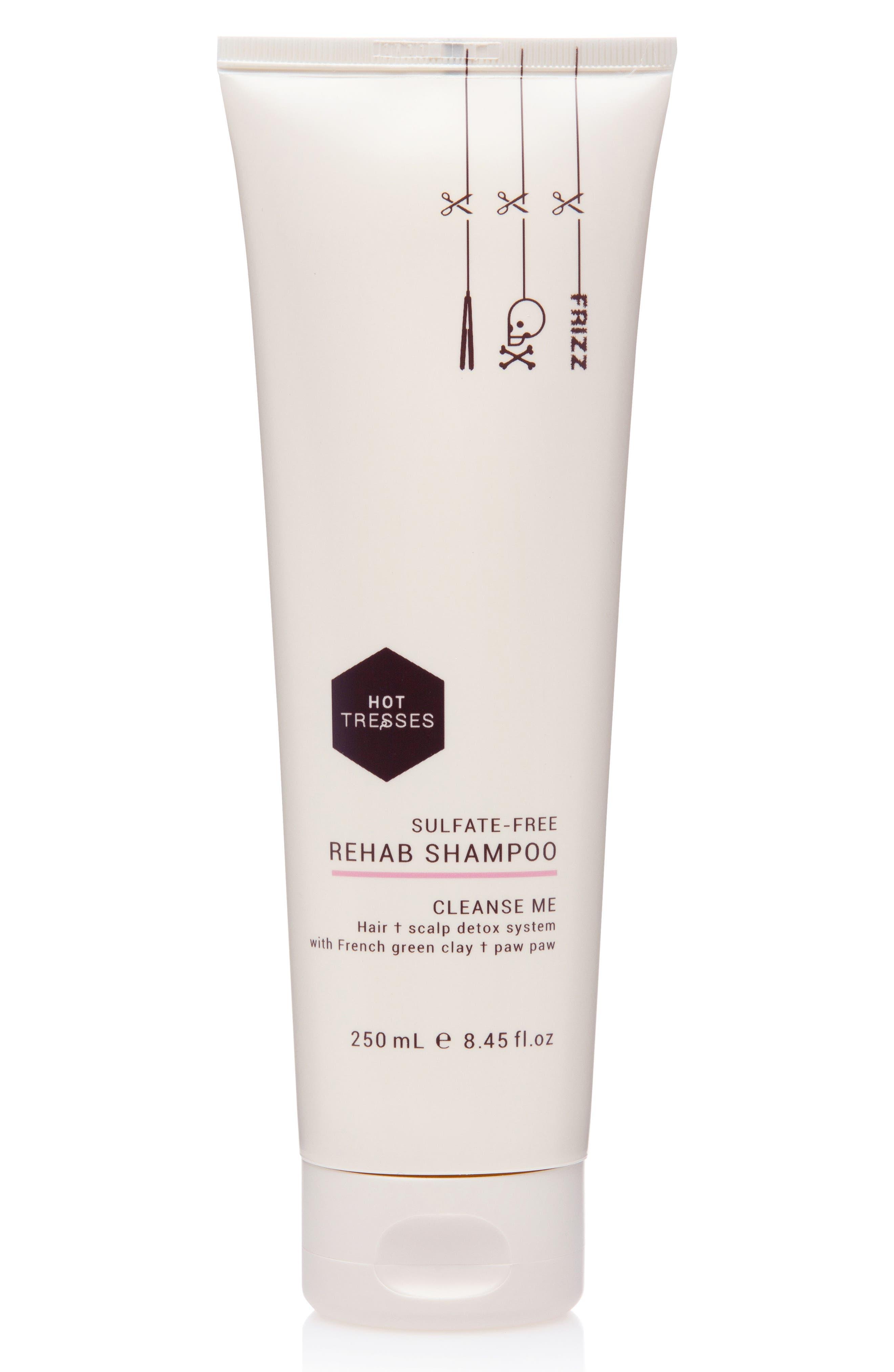 Hot Tresses Sulfate-Free Rehab Shampoo