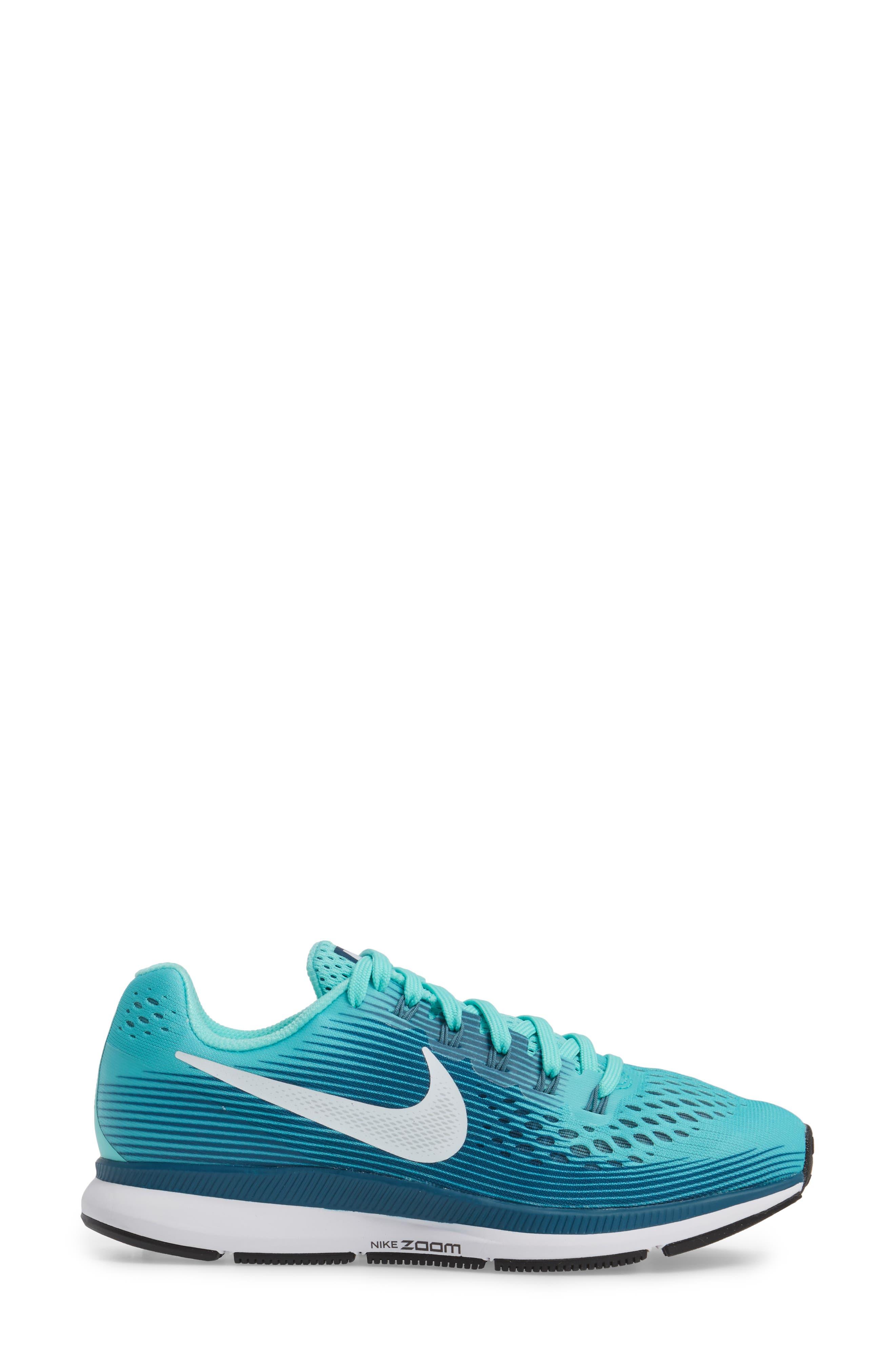 Alternate Image 3  - Nike Air Zoom Pegasus 34 Running Shoe (Women)
