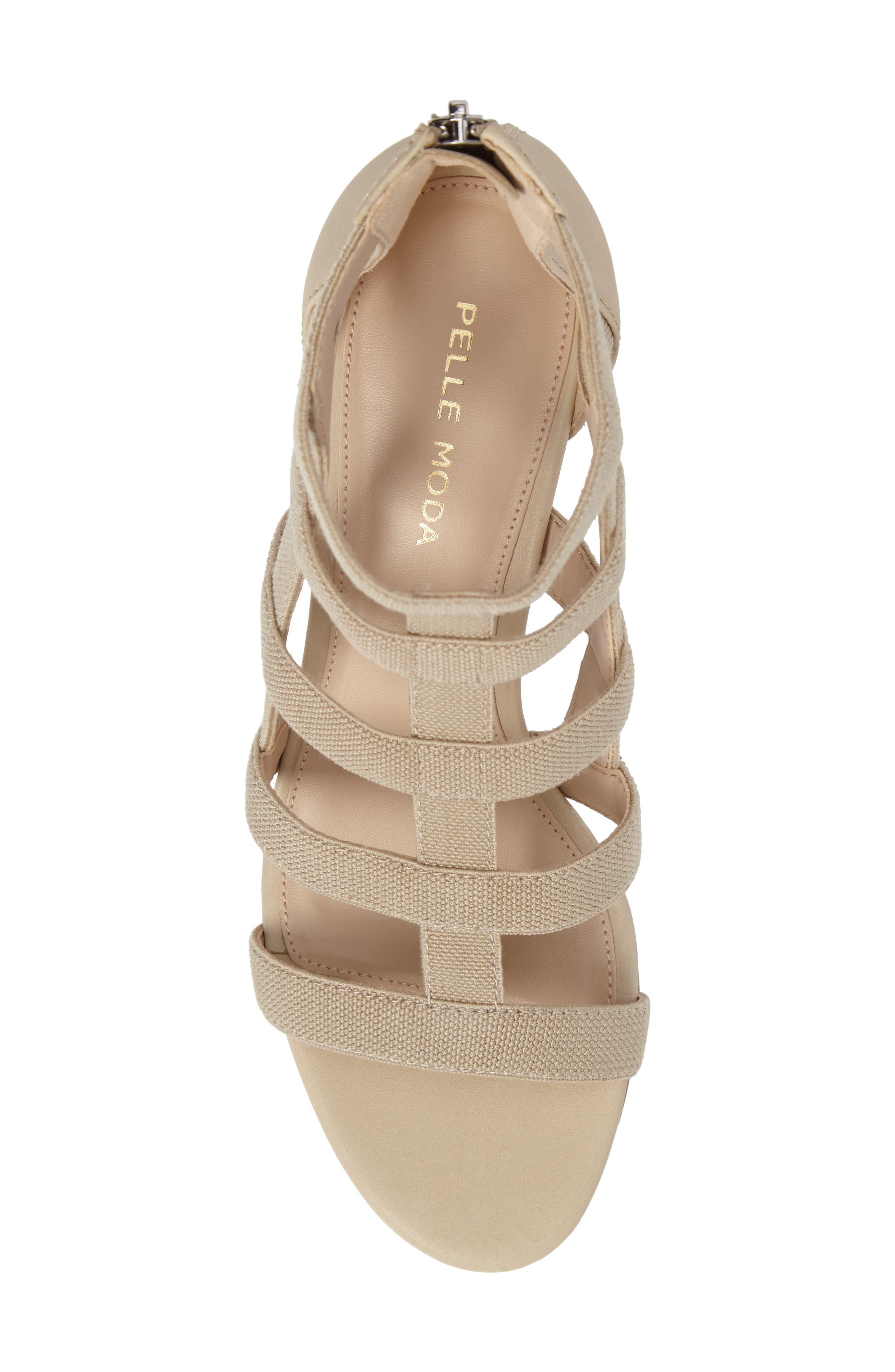 Alternate Image 5  - Pelle Moda Unkar Block Heel Sandal (Women)