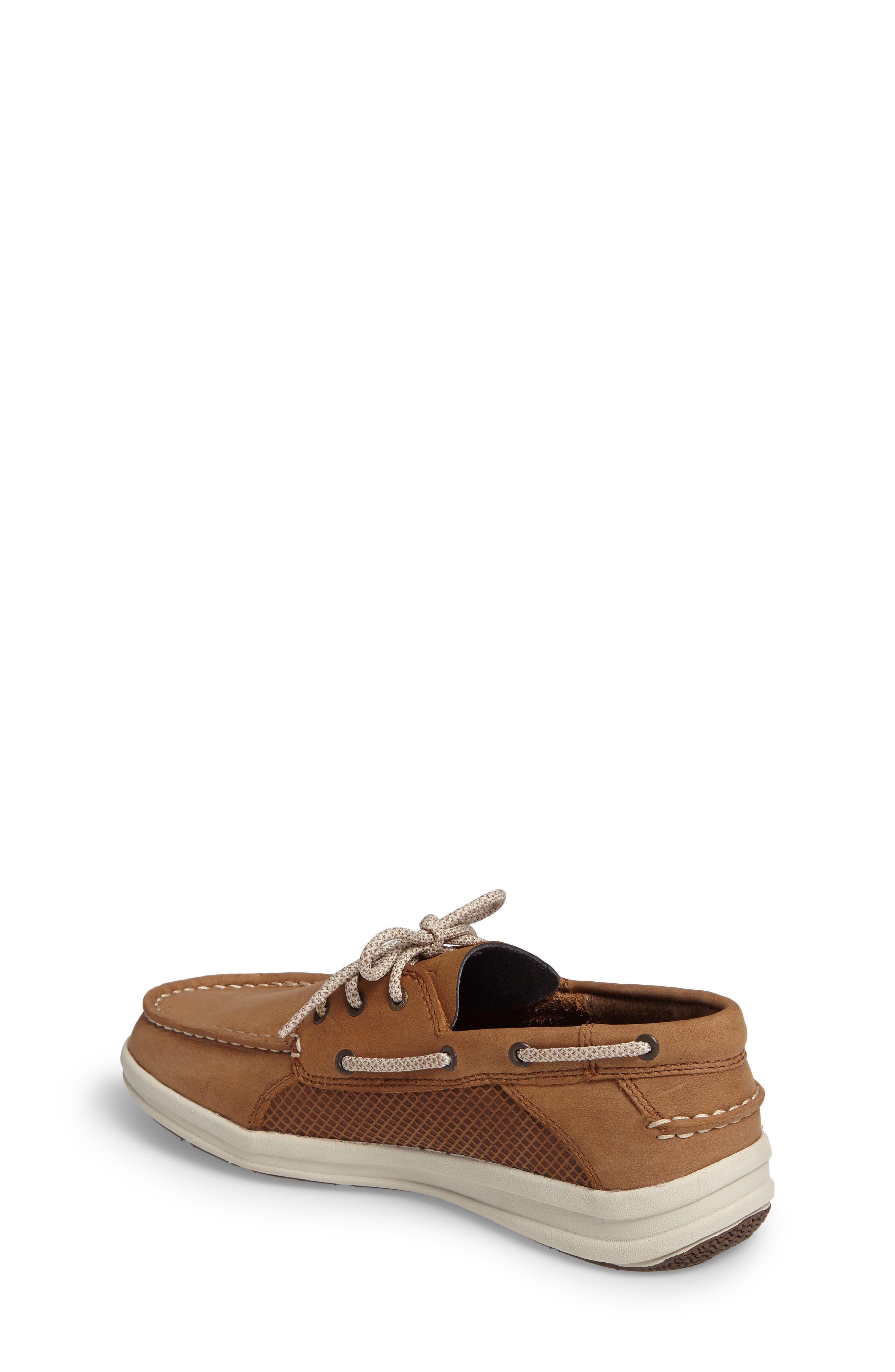 Sperry Gamefish Boat Shoe,                             Alternate thumbnail 2, color,                             Dark Tan