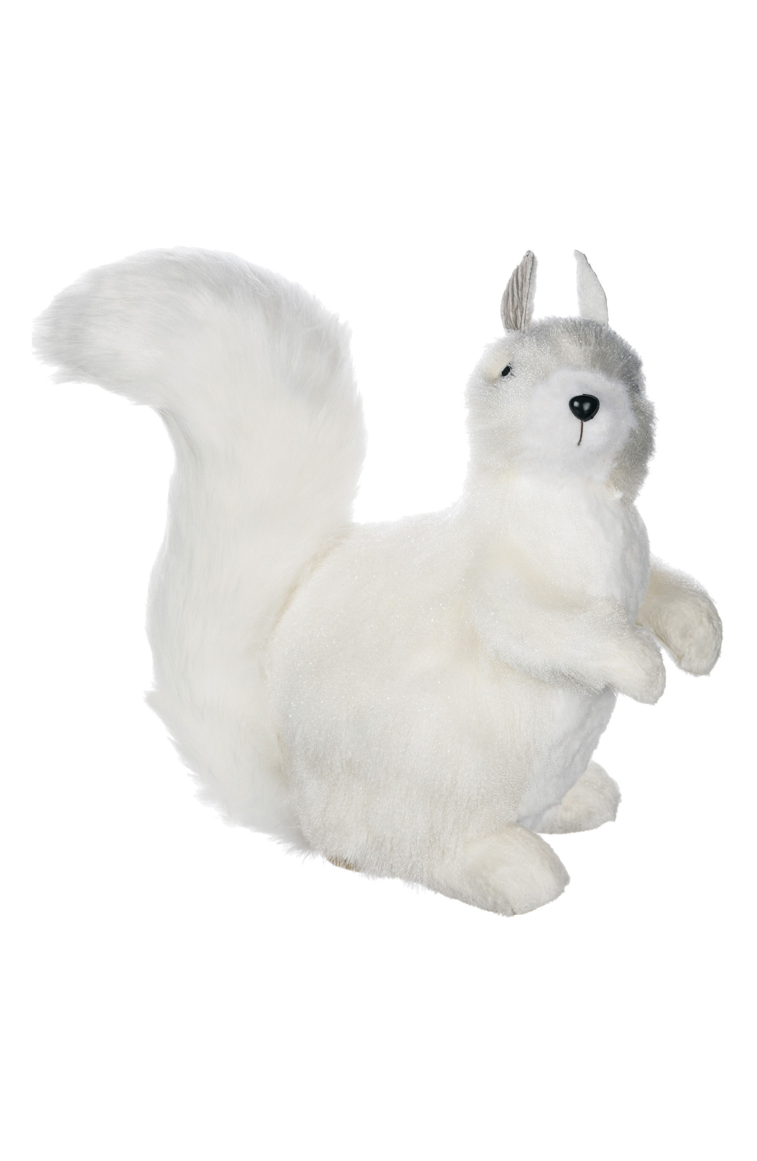 Standing Squirrel Decoration,                         Main,                         color, White