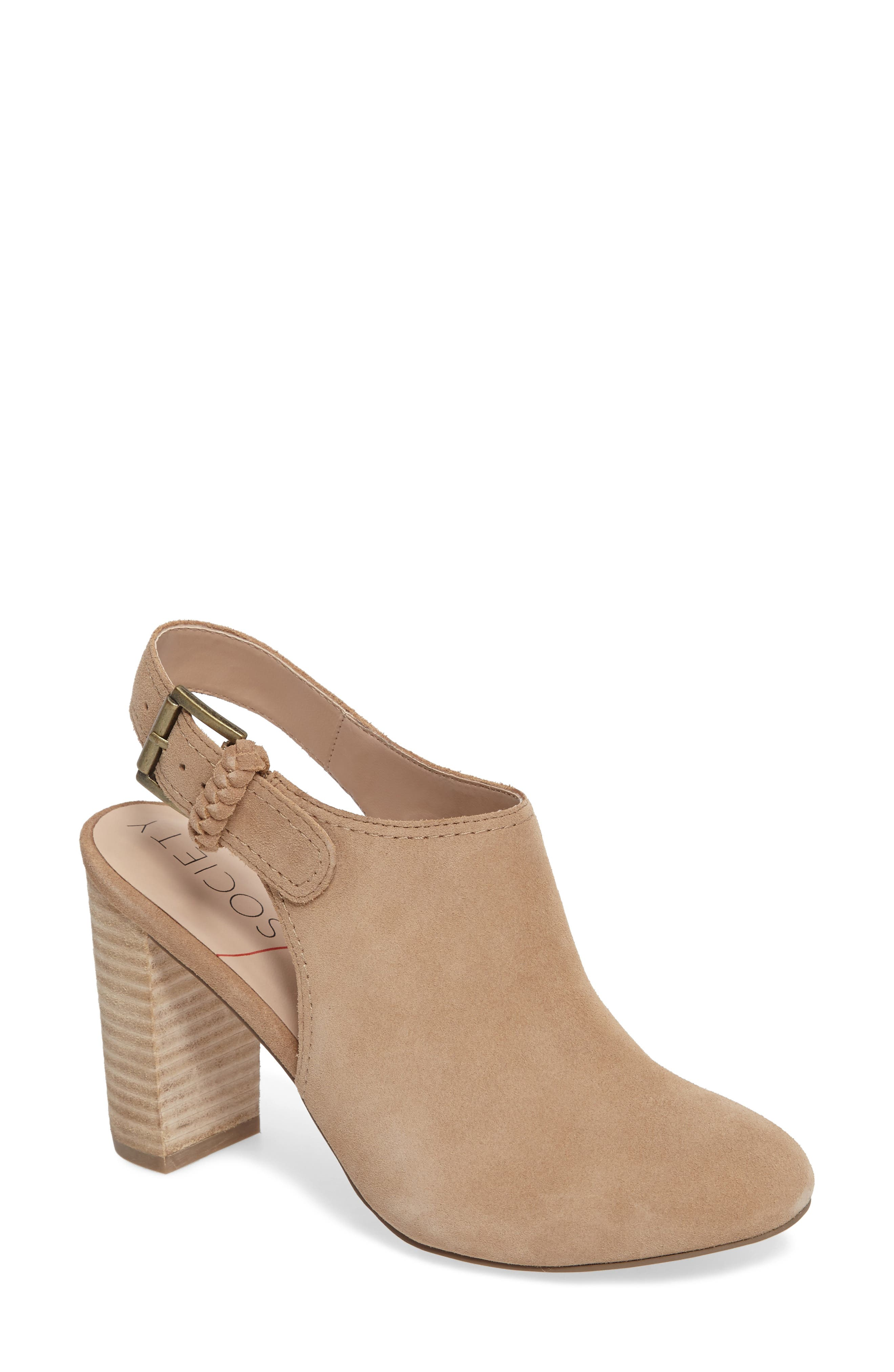 Alternate Image 1 Selected - Sole Society Apollo Slingback Bootie (Women)