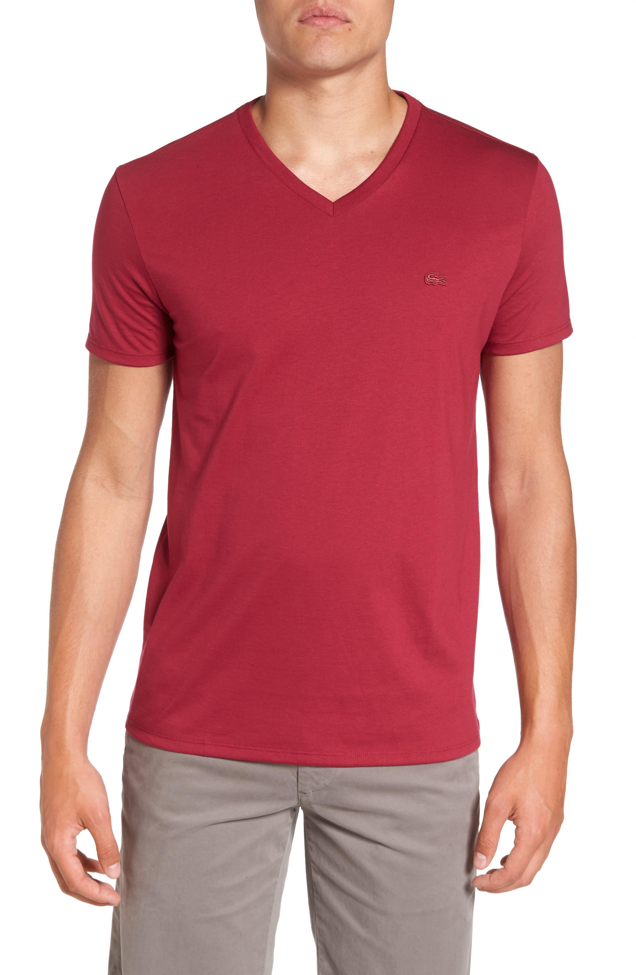 Alternate Image 1 Selected - Lacoste Pima Cotton T-Shirt