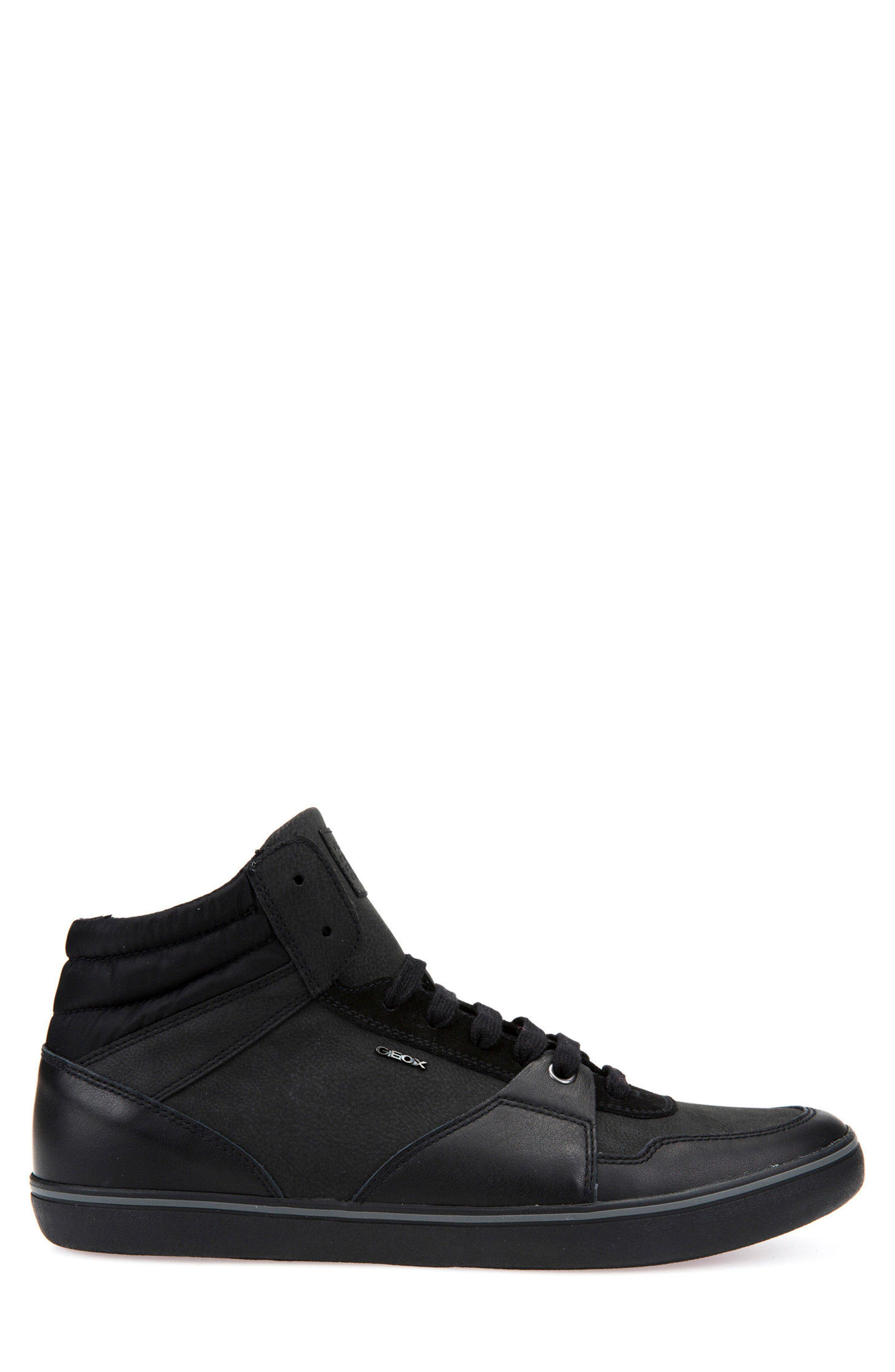 Box 31 High Top Sneaker,                             Alternate thumbnail 3, color,                             Black
