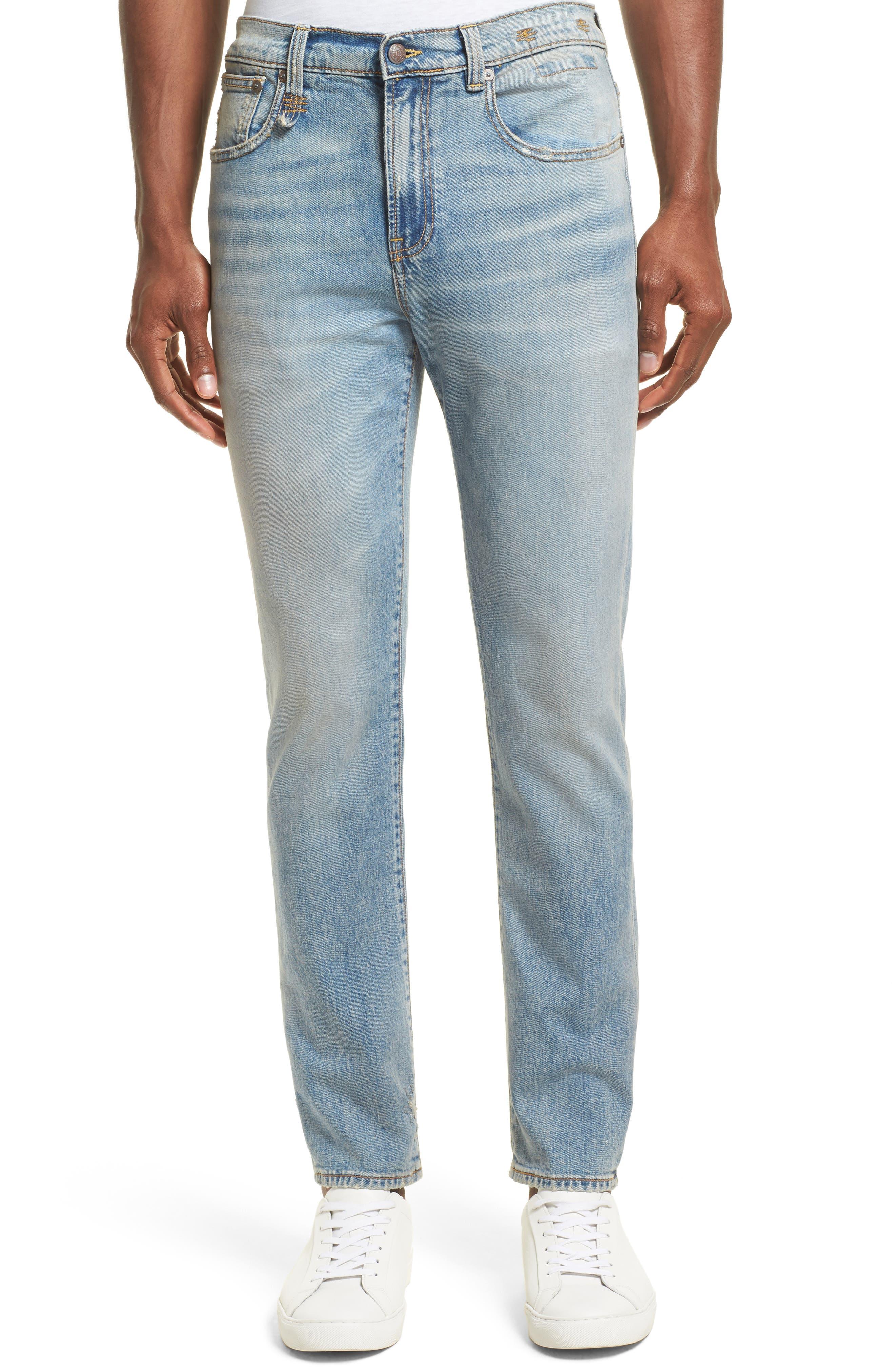 Alternate Image 1 Selected - R13 Boy Clean Jeans (Leyton)