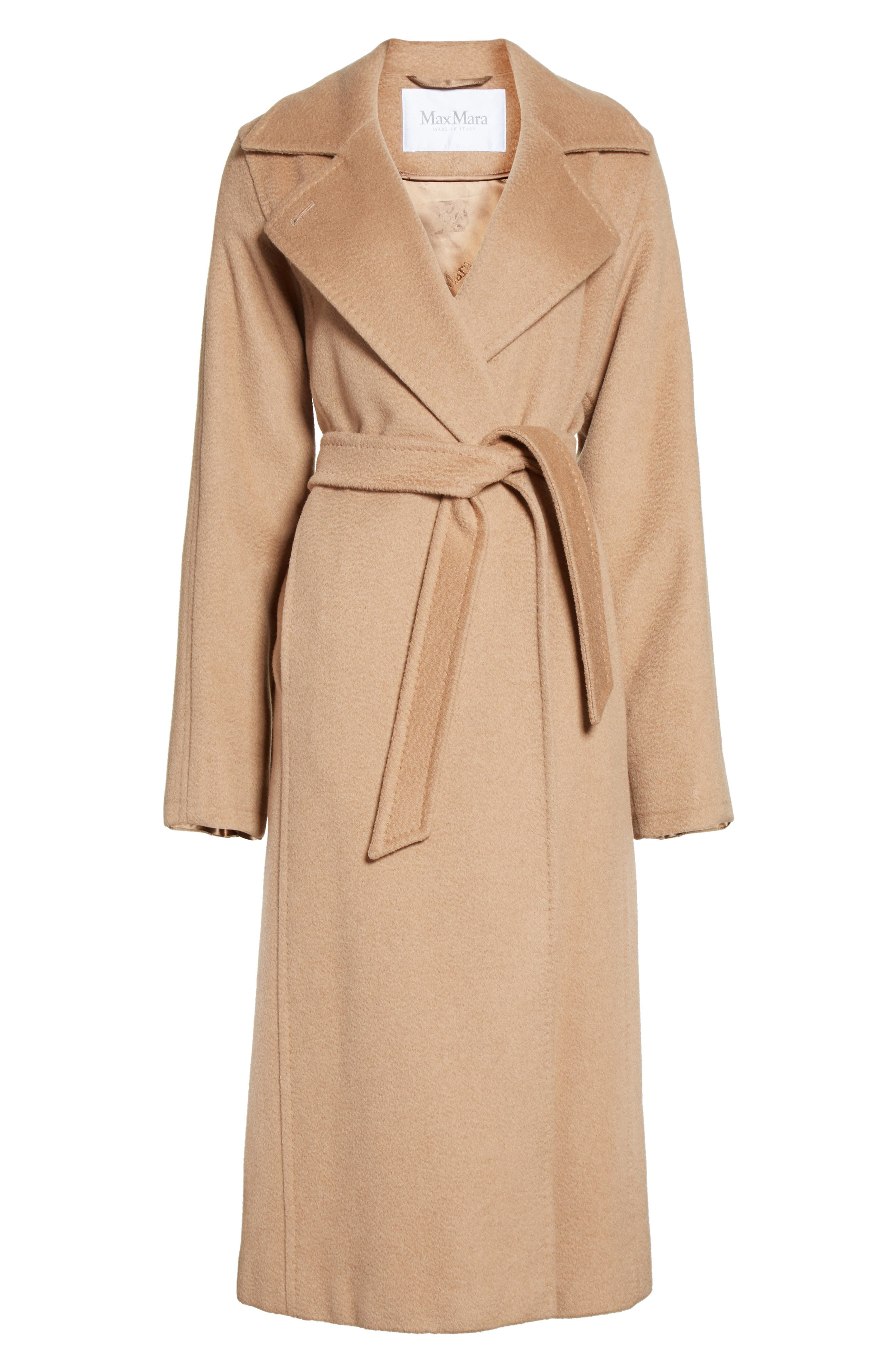 Alternate Image 4  - Max Mara 'Manuela' Camel Hair Coat