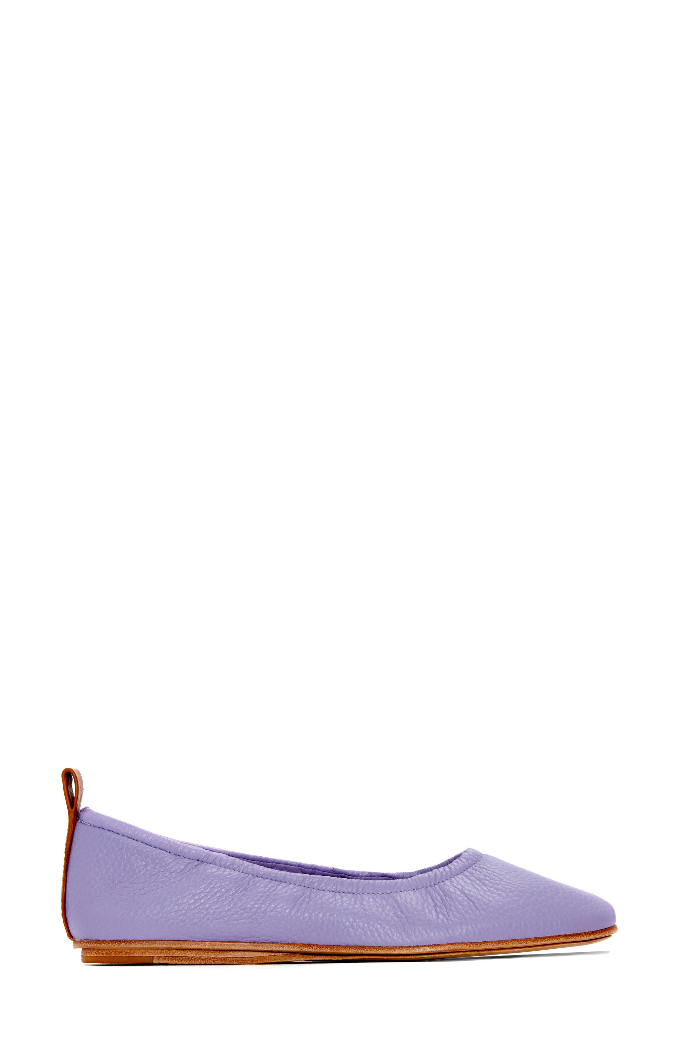 Carola Ballet Flat,                             Alternate thumbnail 2, color,                             Lavender