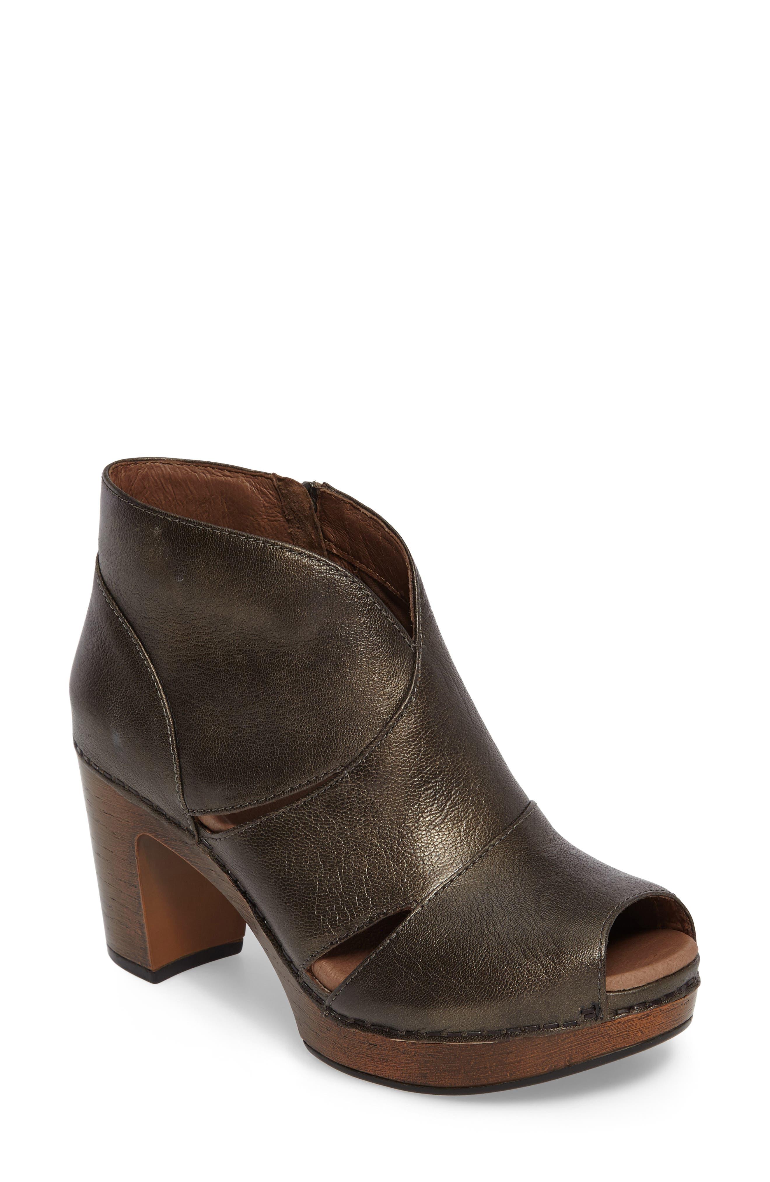Main Image - Dansko Delphina Block Heel Bootie (Women)