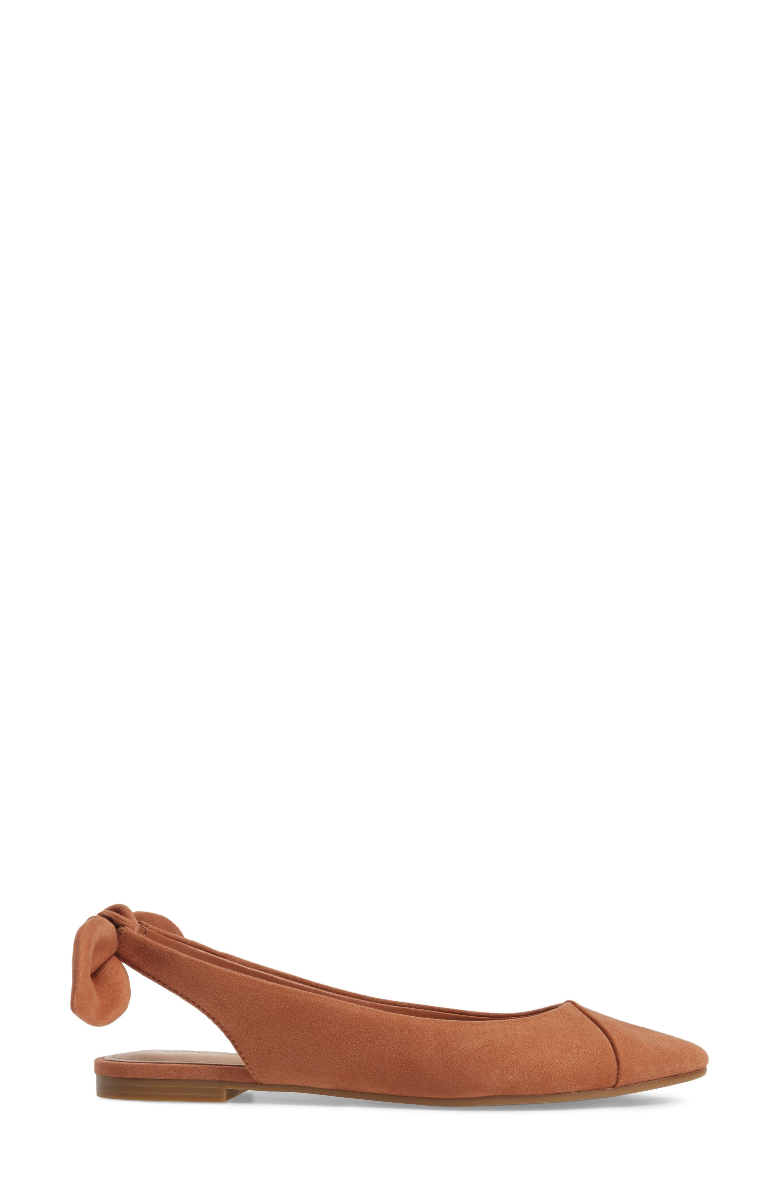 Alternate Image 3  - BCBG Mara Bow Pointy Toe Flat (Women)
