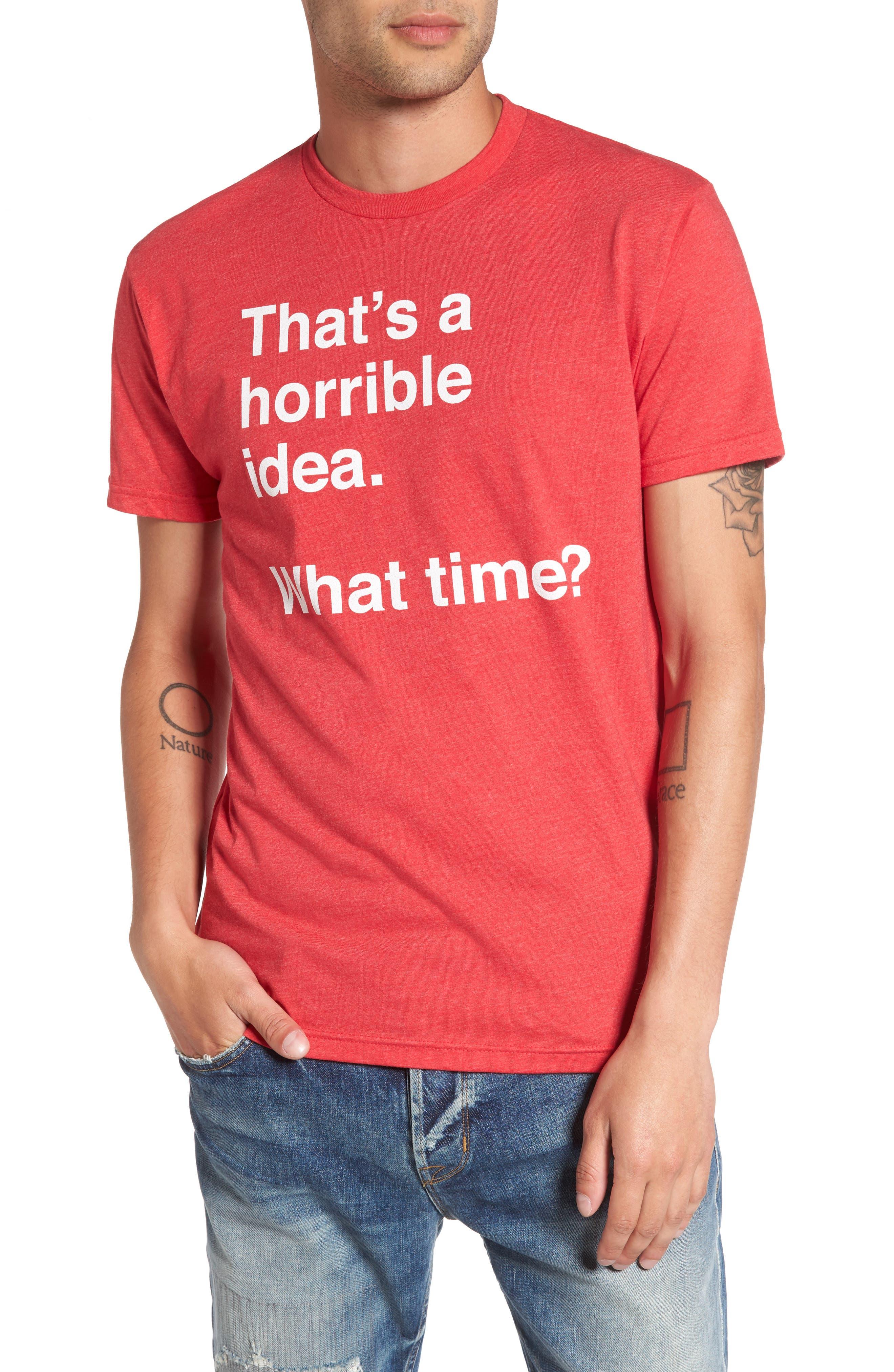 Main Image - Kid Dangerous Horrible Idea Graphic T-Shirt