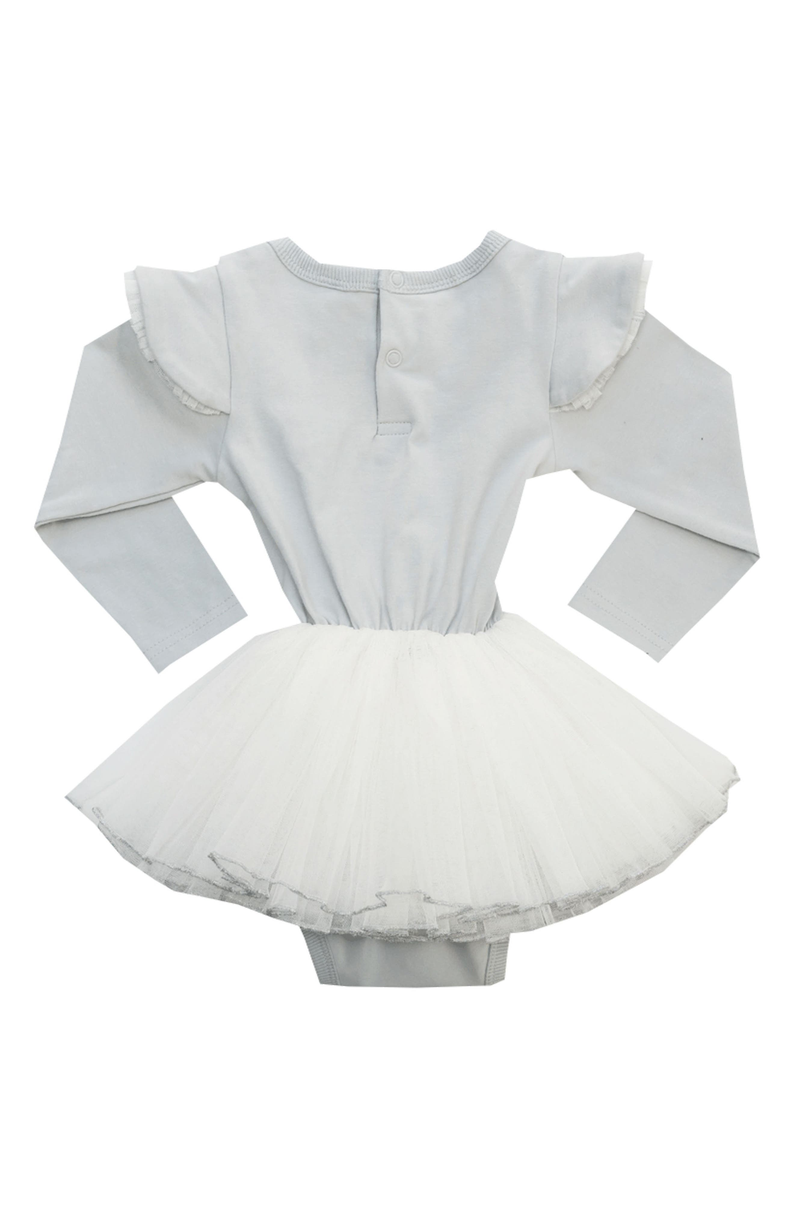 Alternate Image 2  - Rock Your Baby Dance It Out Circus Tutu Bodysuit (Baby)
