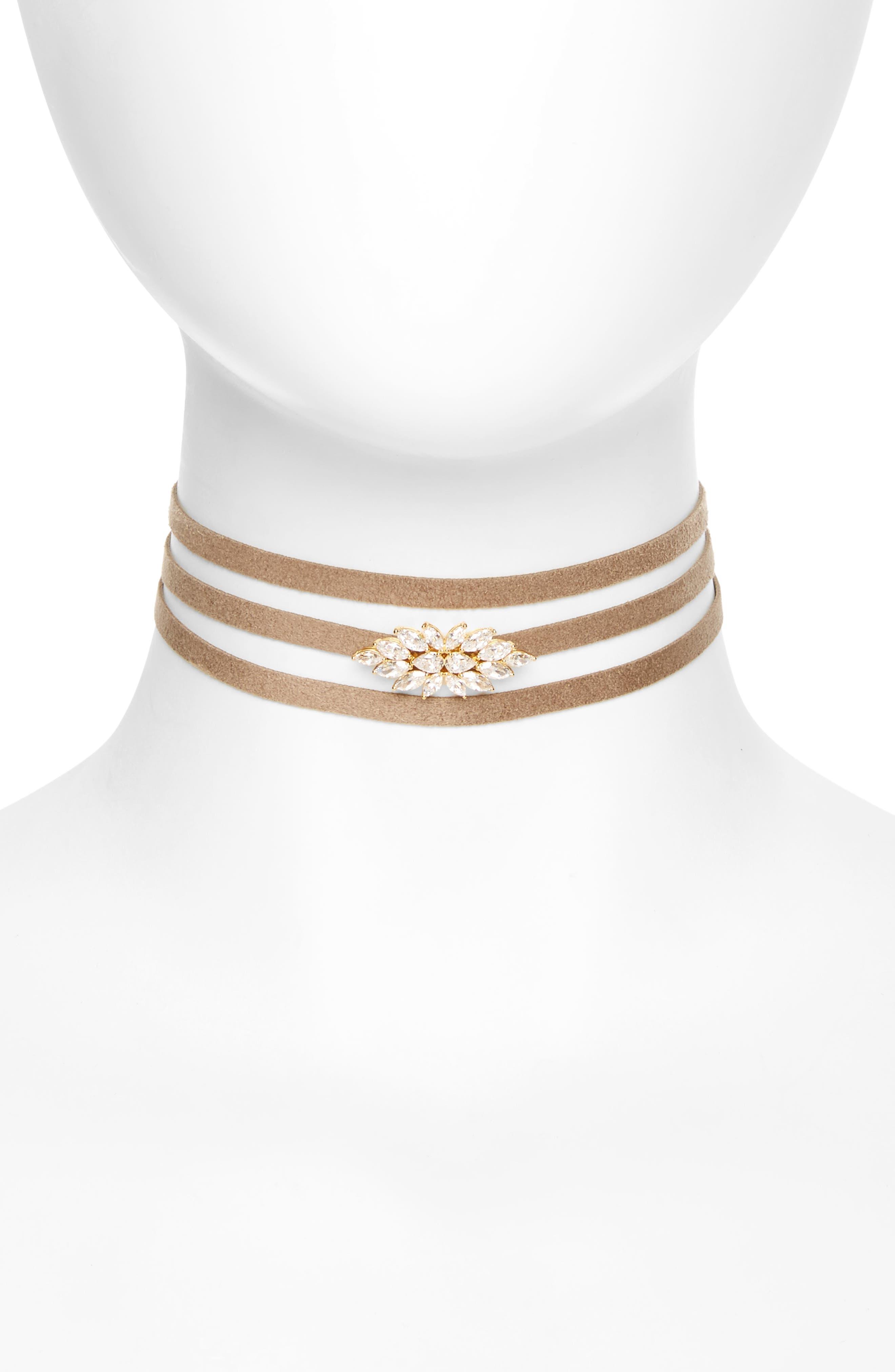 Main Image - Nadri Wrap Choker Necklace