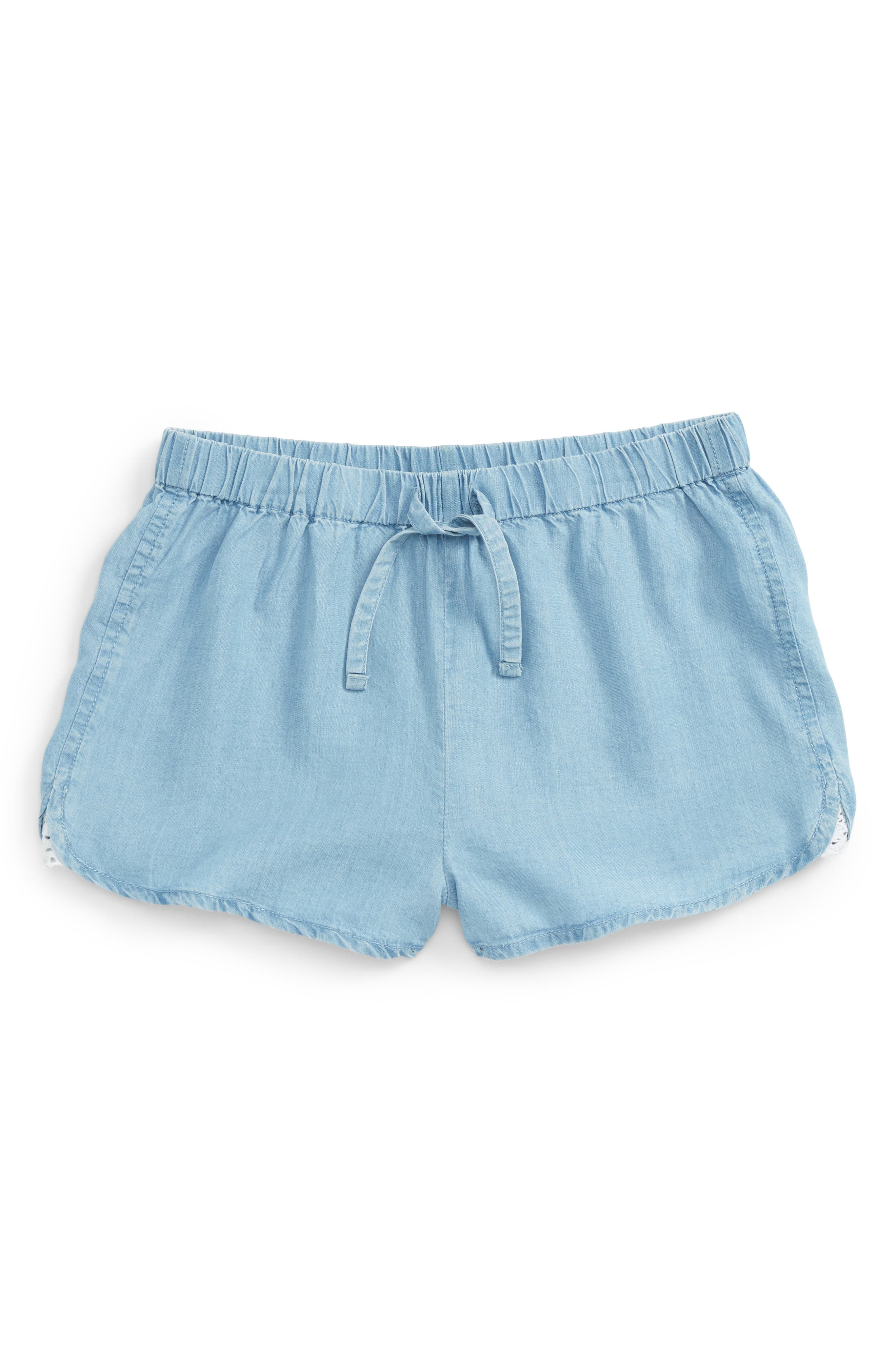 Tucker + Tate Chambray Shorts (Big Girls)