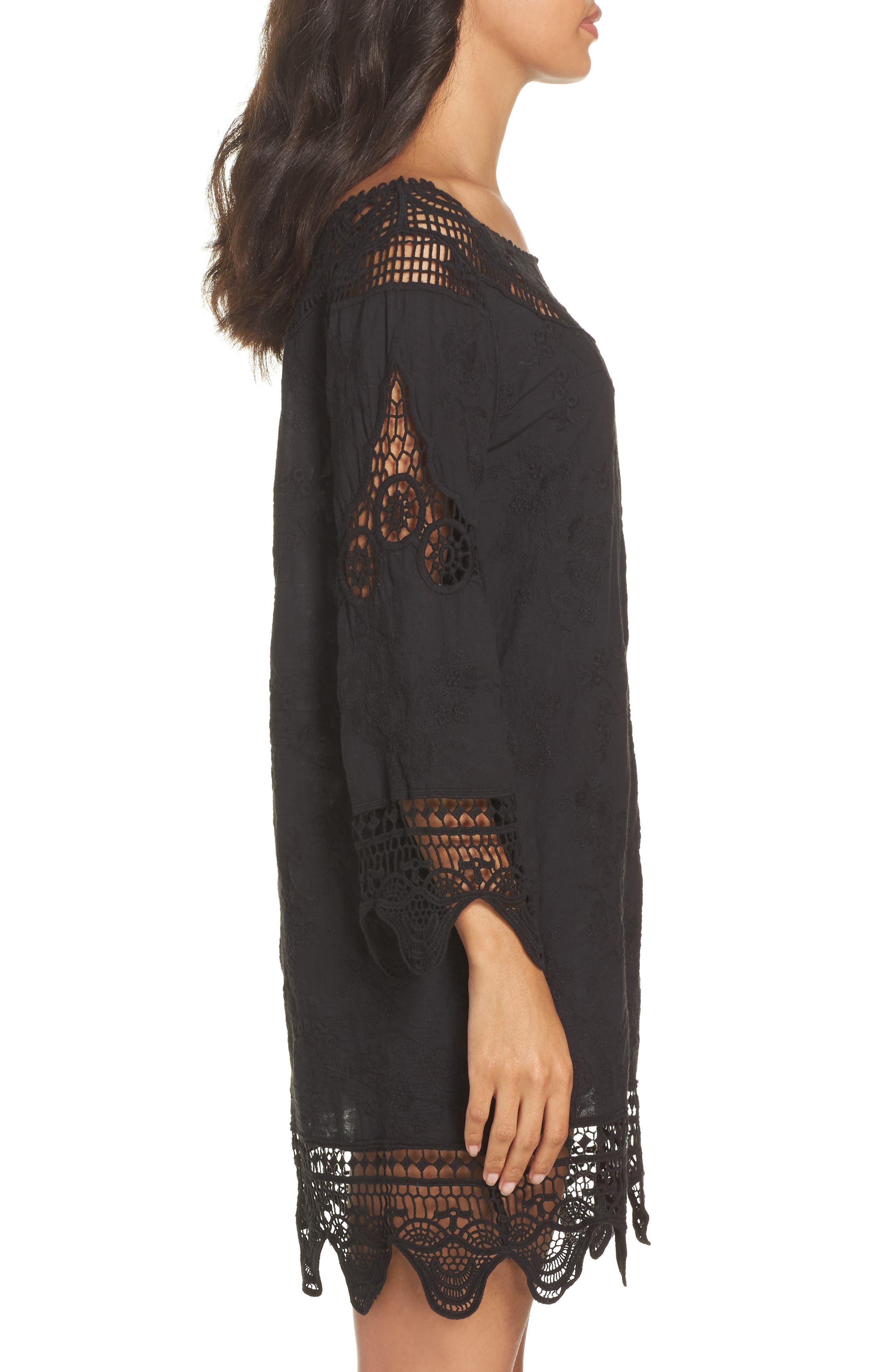 Alternate Image 3  - La Blanca Zen Garden Cover-Up Dress