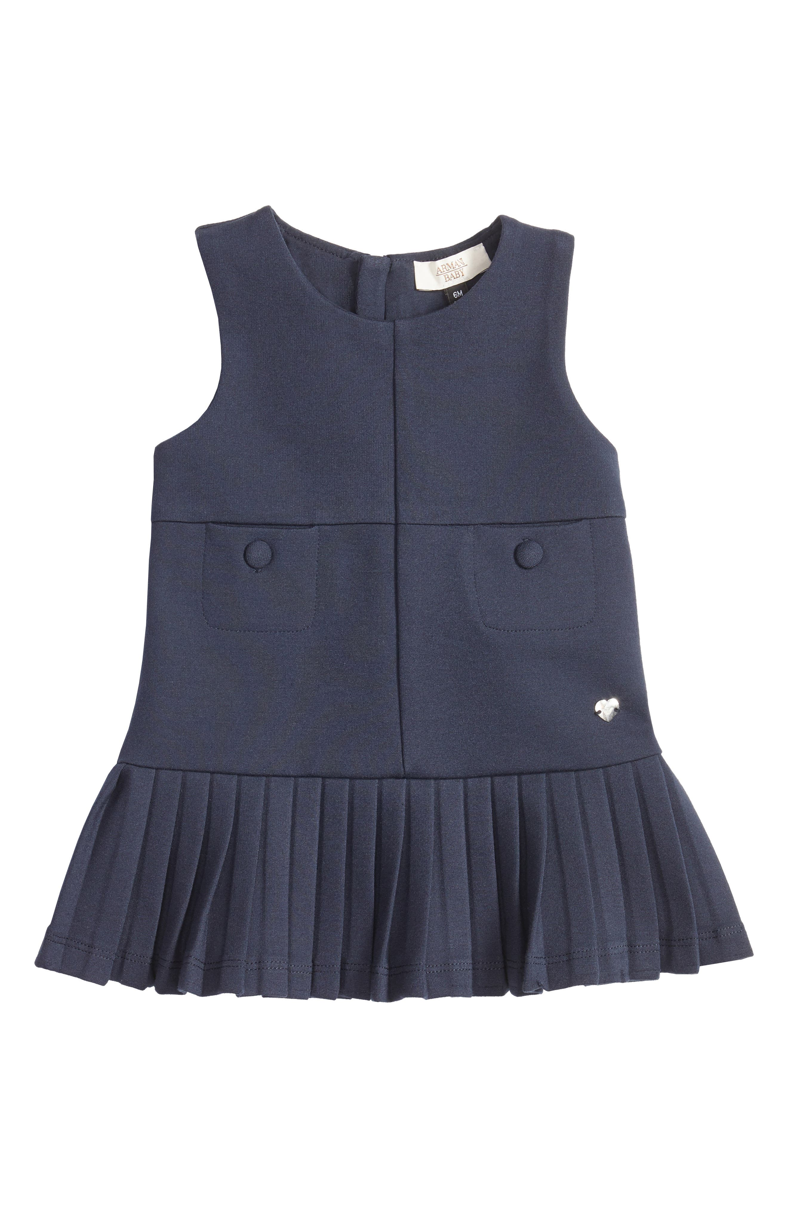 Armani Junior Sleeveless Jersey Dress (Baby Girls)