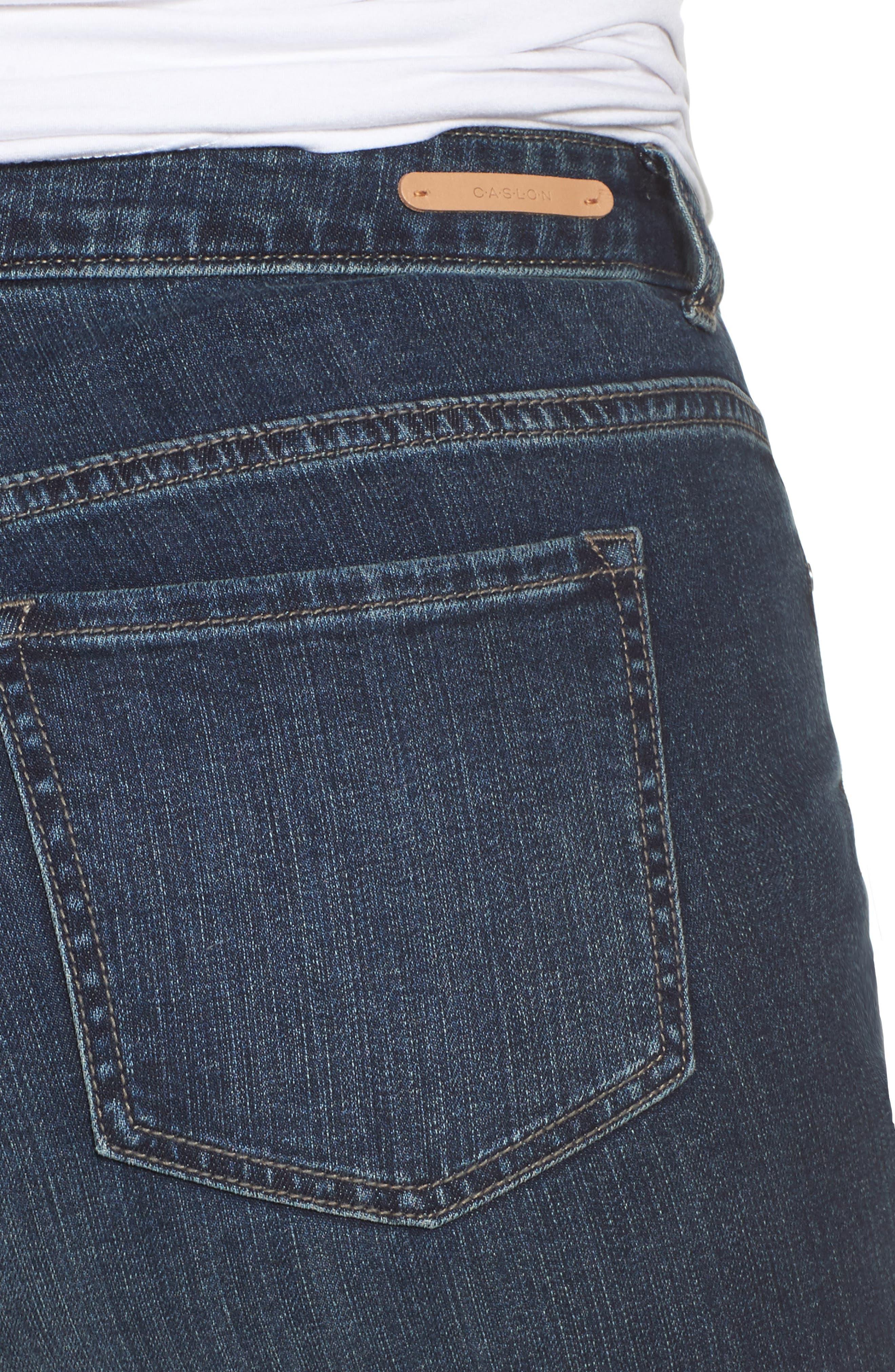 Boyfriend Jeans,                             Alternate thumbnail 4, color,                             Mirage Wash