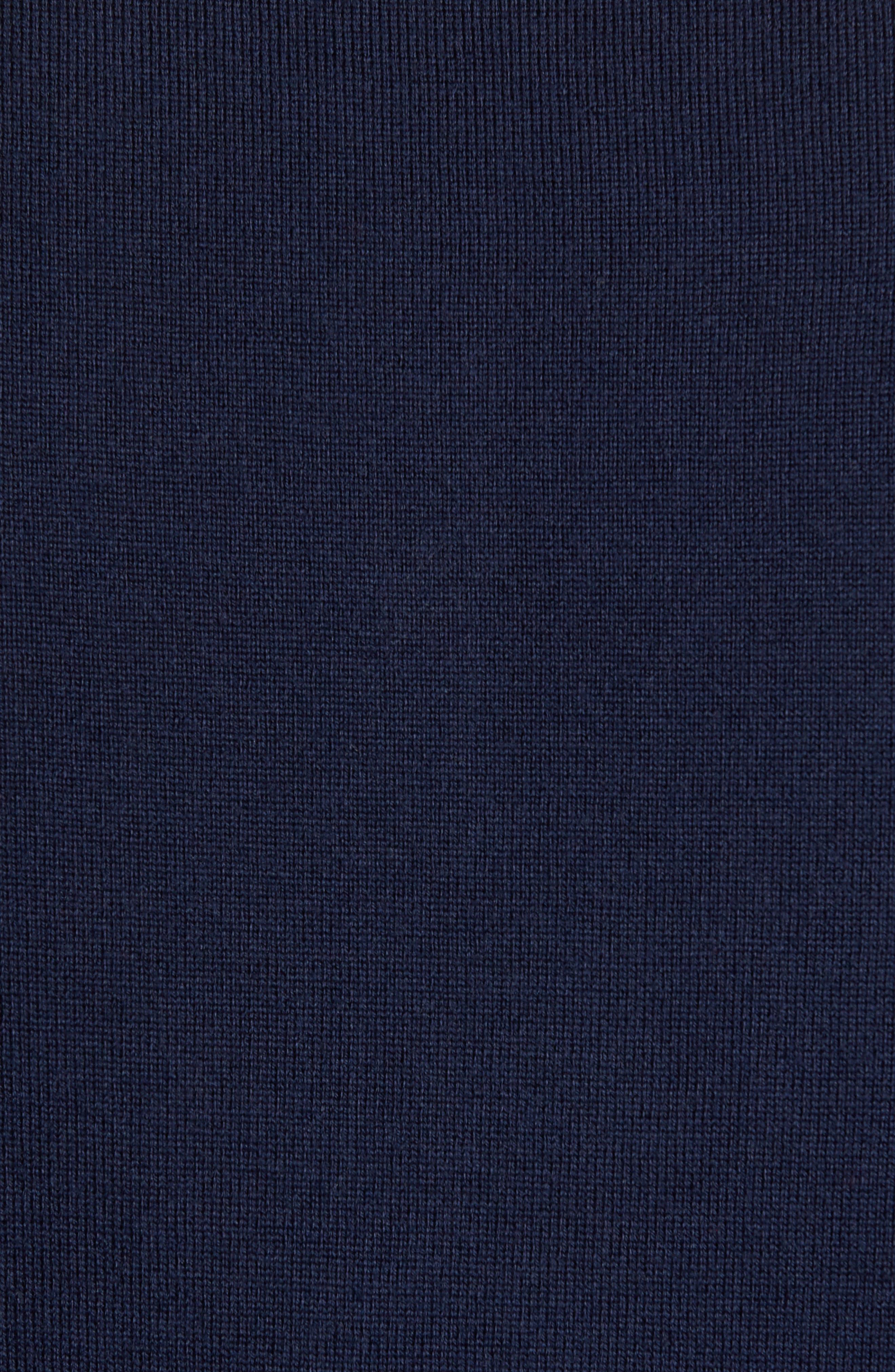 Alternate Image 5  - Nordstrom Men's Shop Merino Wool Polo Sweater