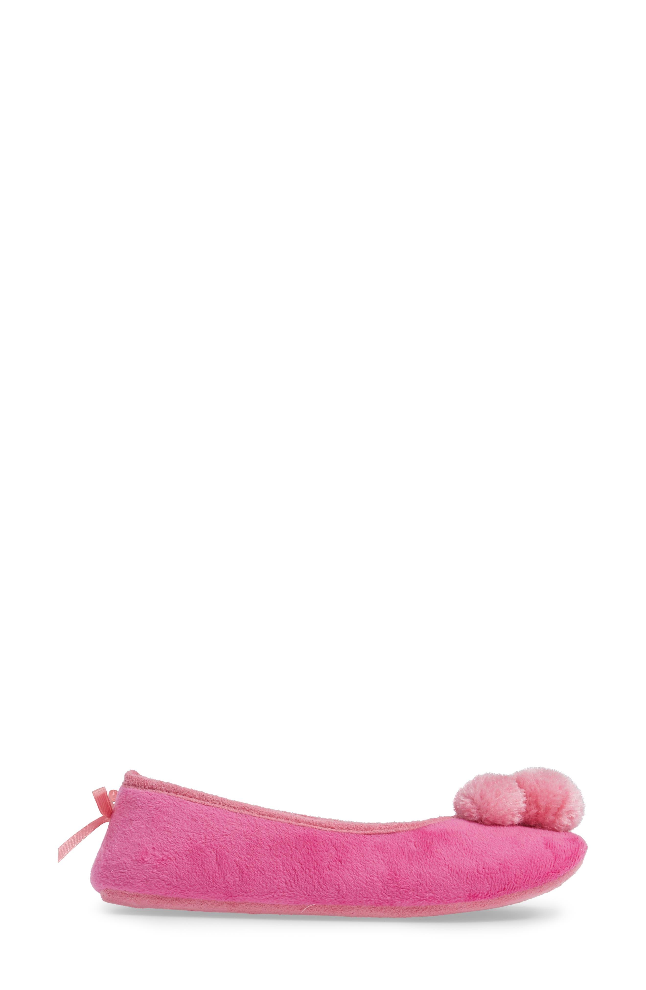 Alternate Image 3  - patricia green Plush Pompom Slipper (Women)