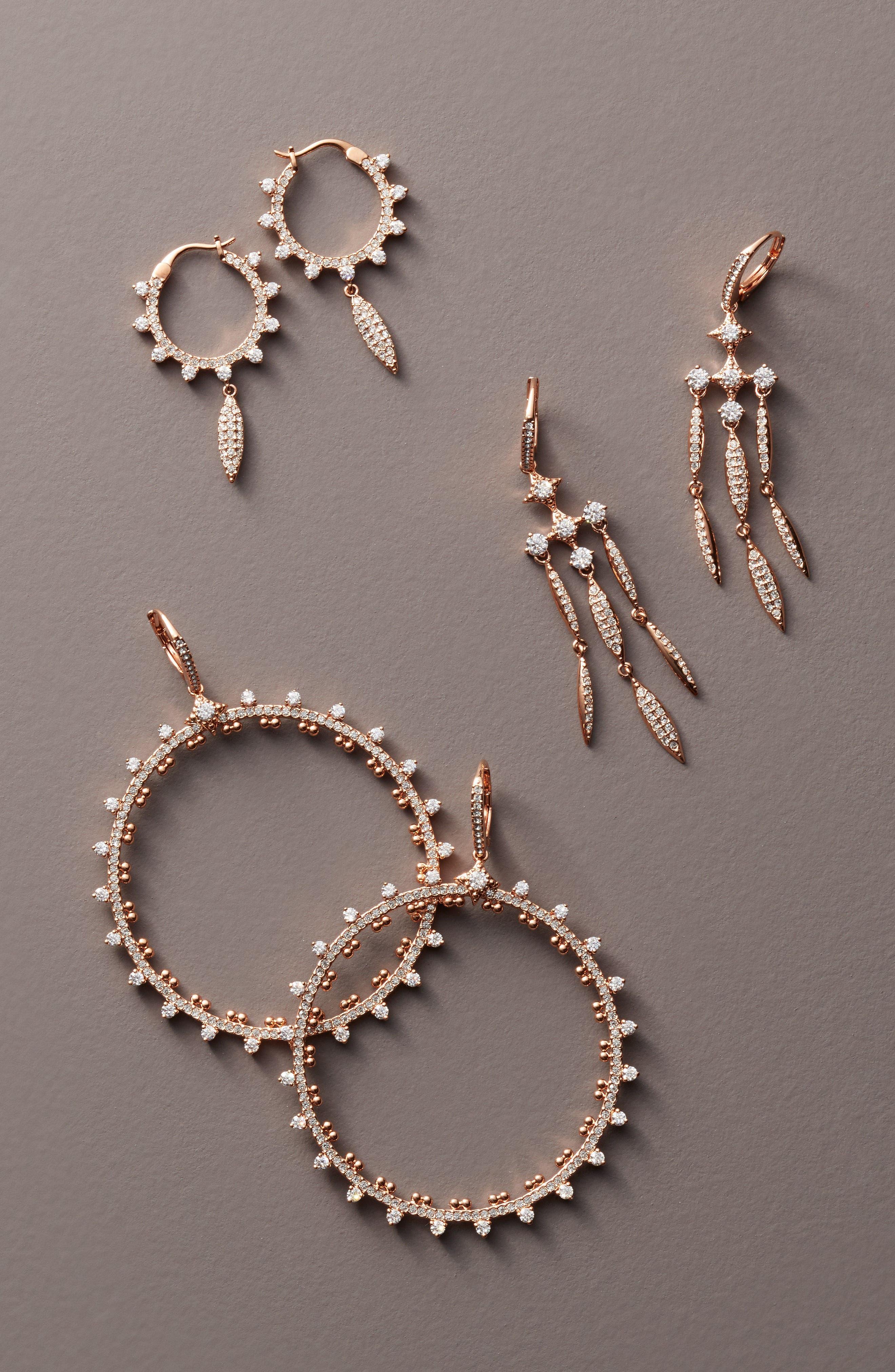 Cardamom Chandelier Earrings,                             Alternate thumbnail 2, color,