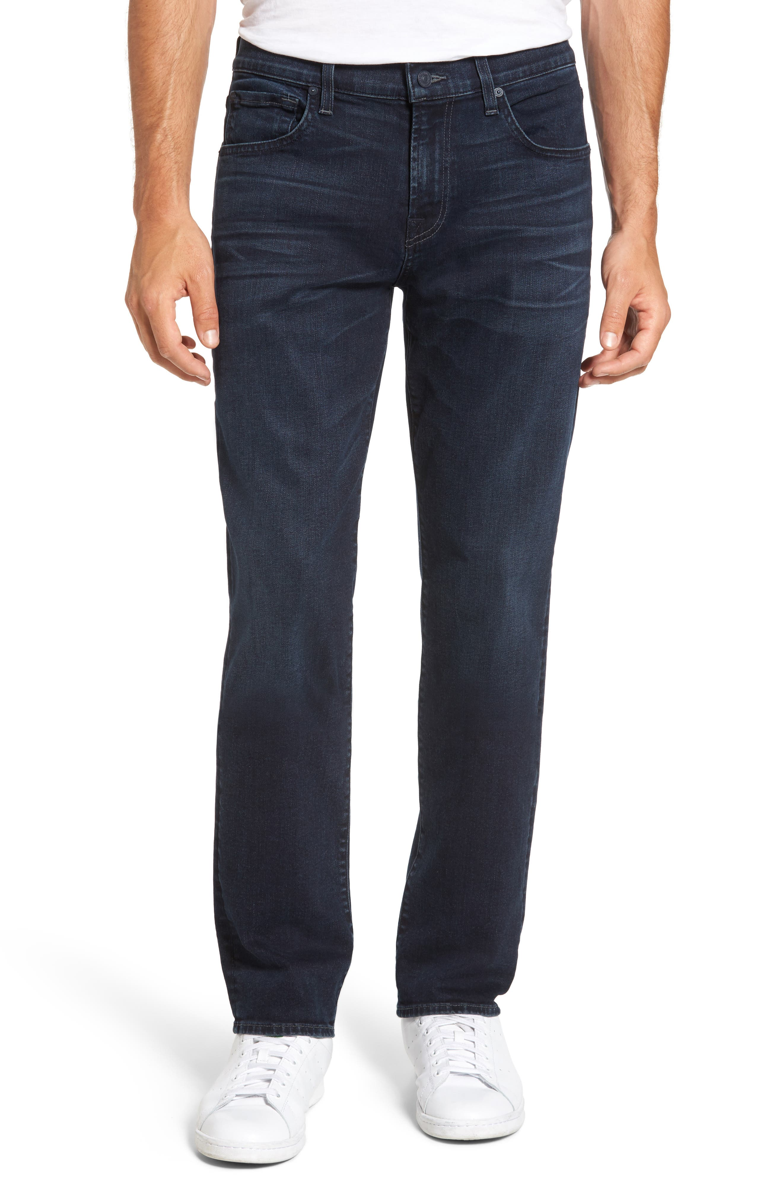 7 For All Mankind® The Straight Slim Straight Leg Jeans (Rainier)