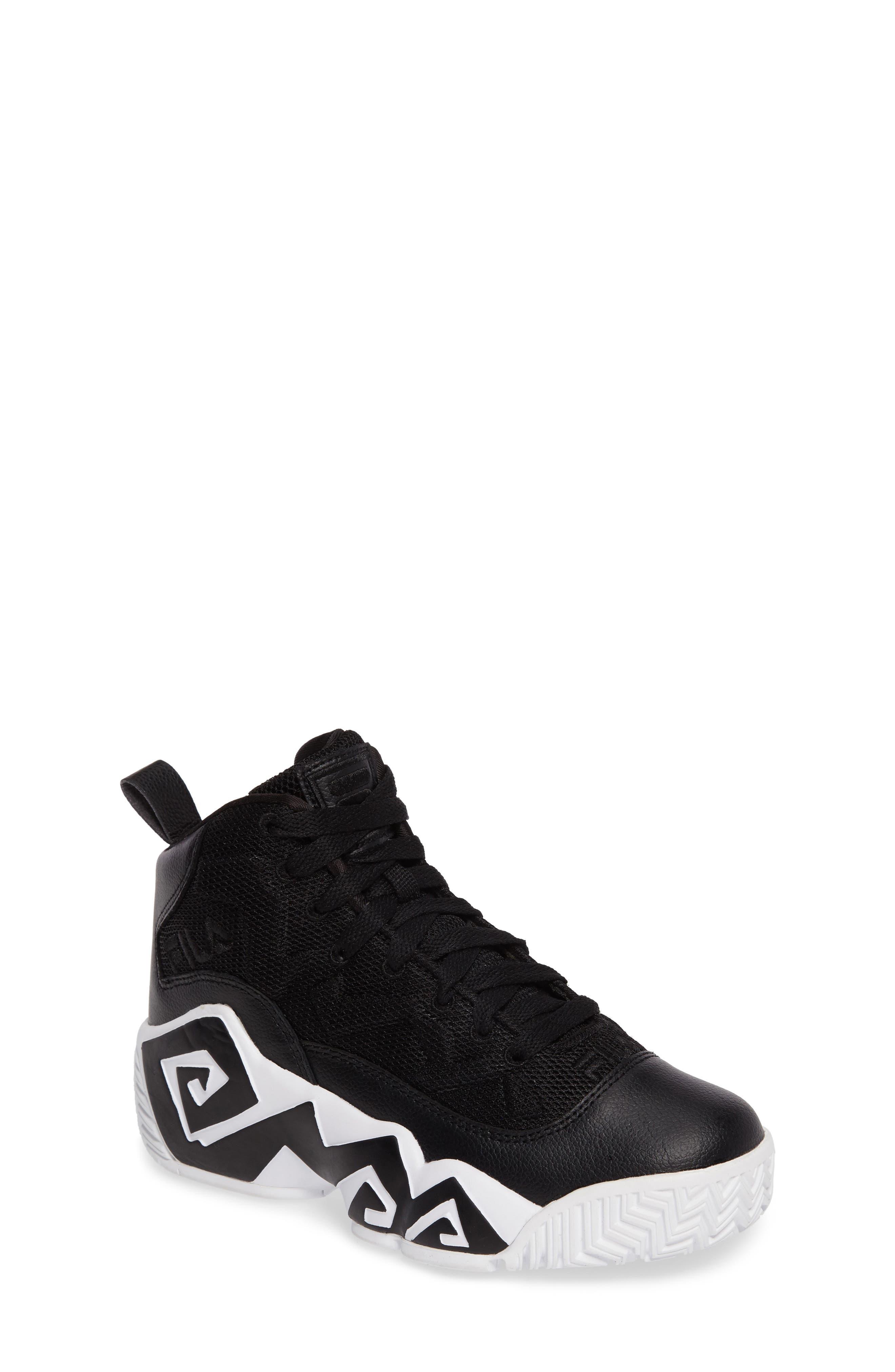 fila kids shoes. main image - fila mb mesh sneaker (big kid) fila kids shoes n