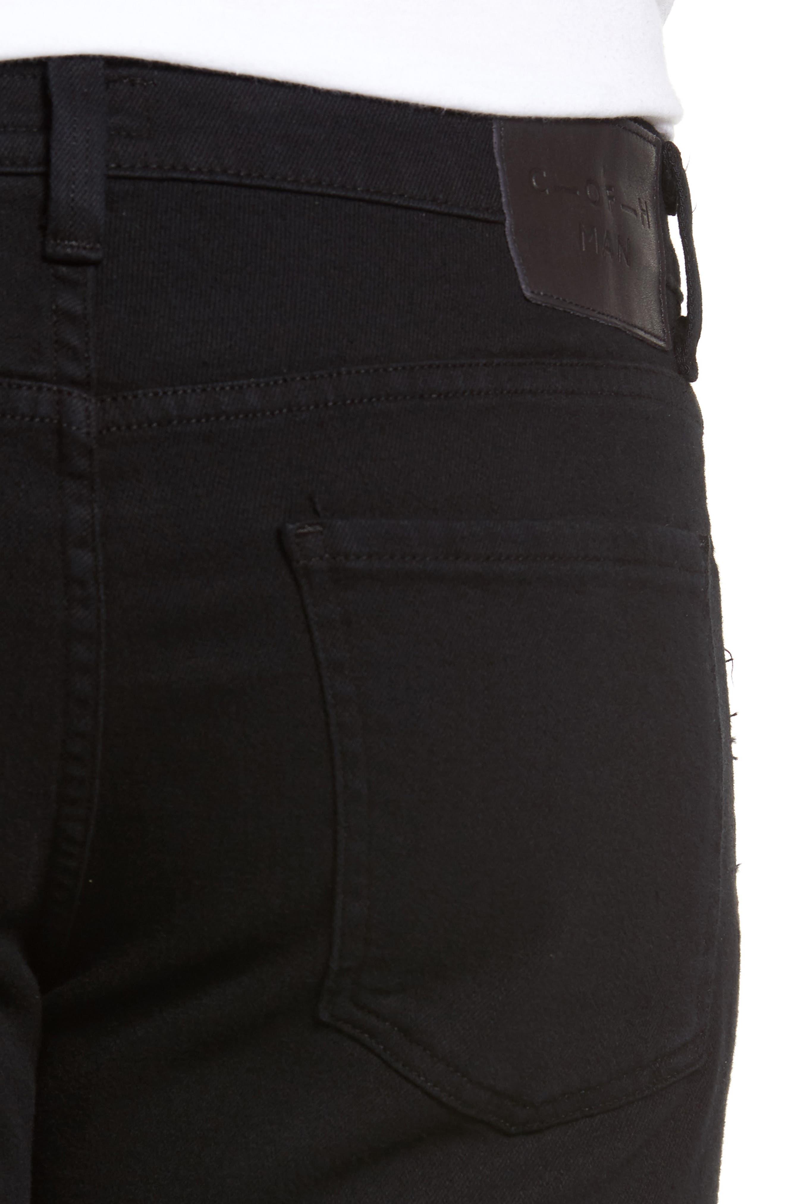 Alternate Image 4  - Citizens of Humanity Core Slim Straight Leg Jeans (Midnight) (Tall)