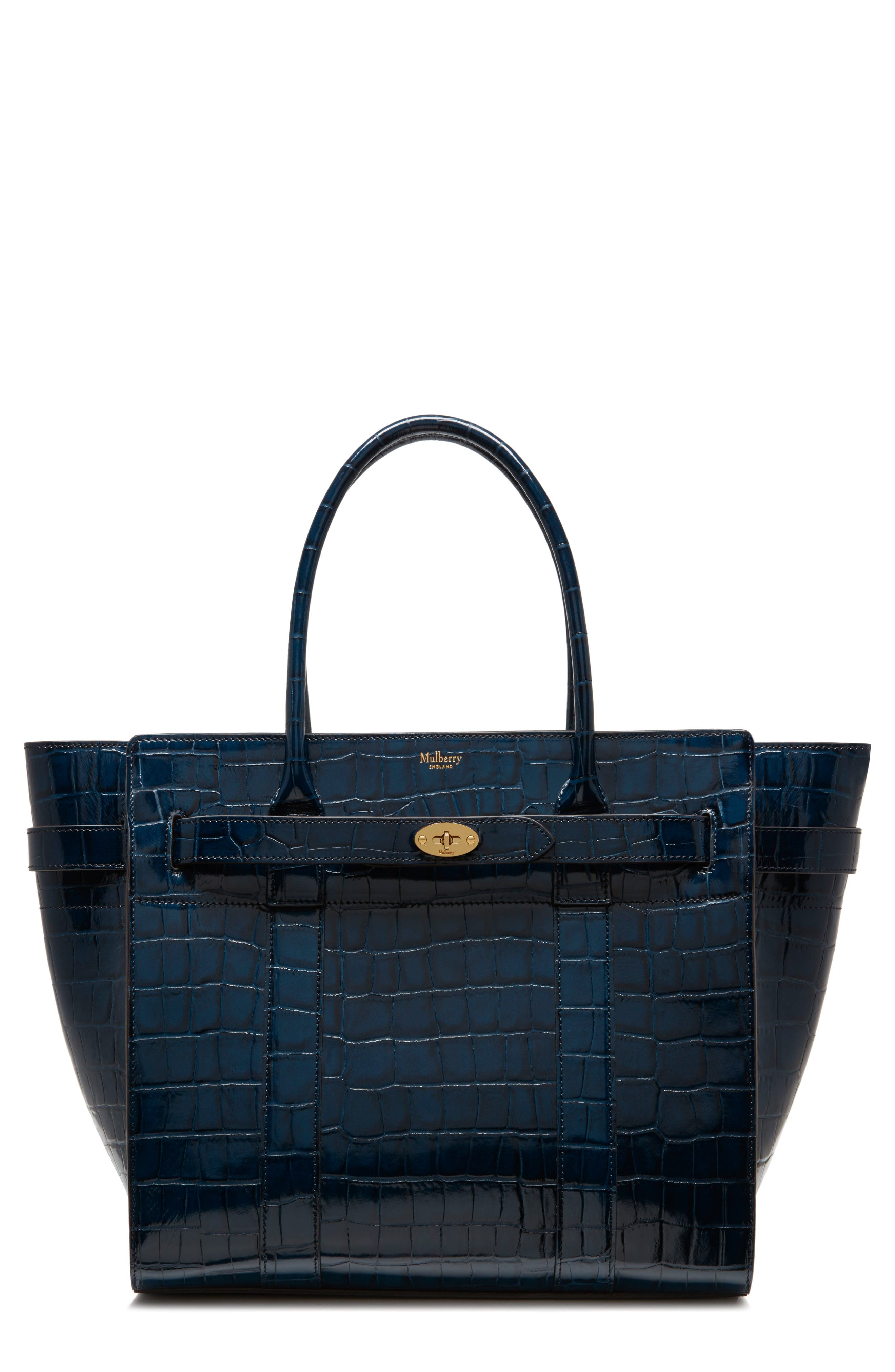 MULBERRY Bayswater Leather Satchel