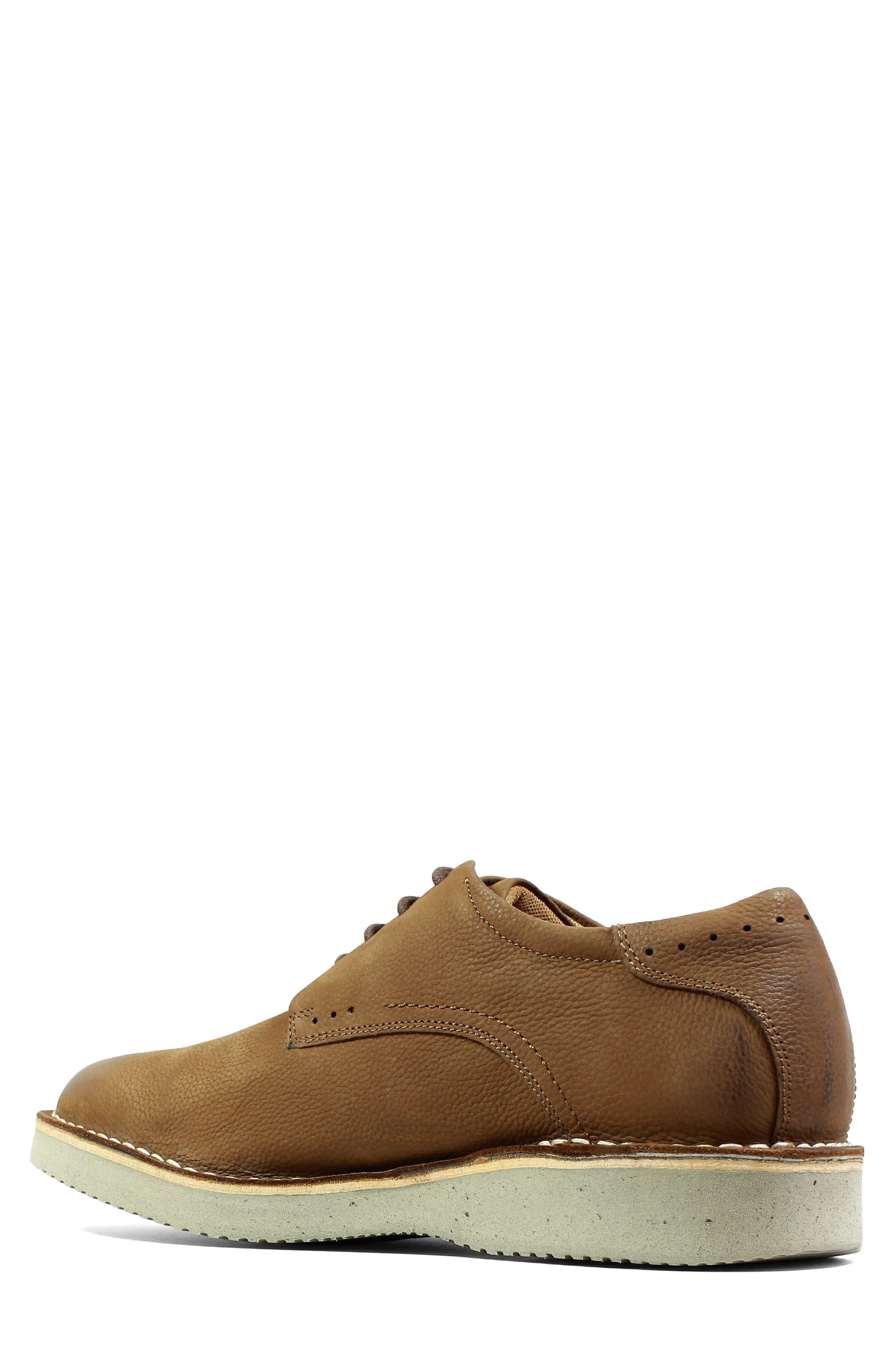 Navigator Plain Toe Oxford,                             Alternate thumbnail 2, color,                             Cocoa Nubuck Leather