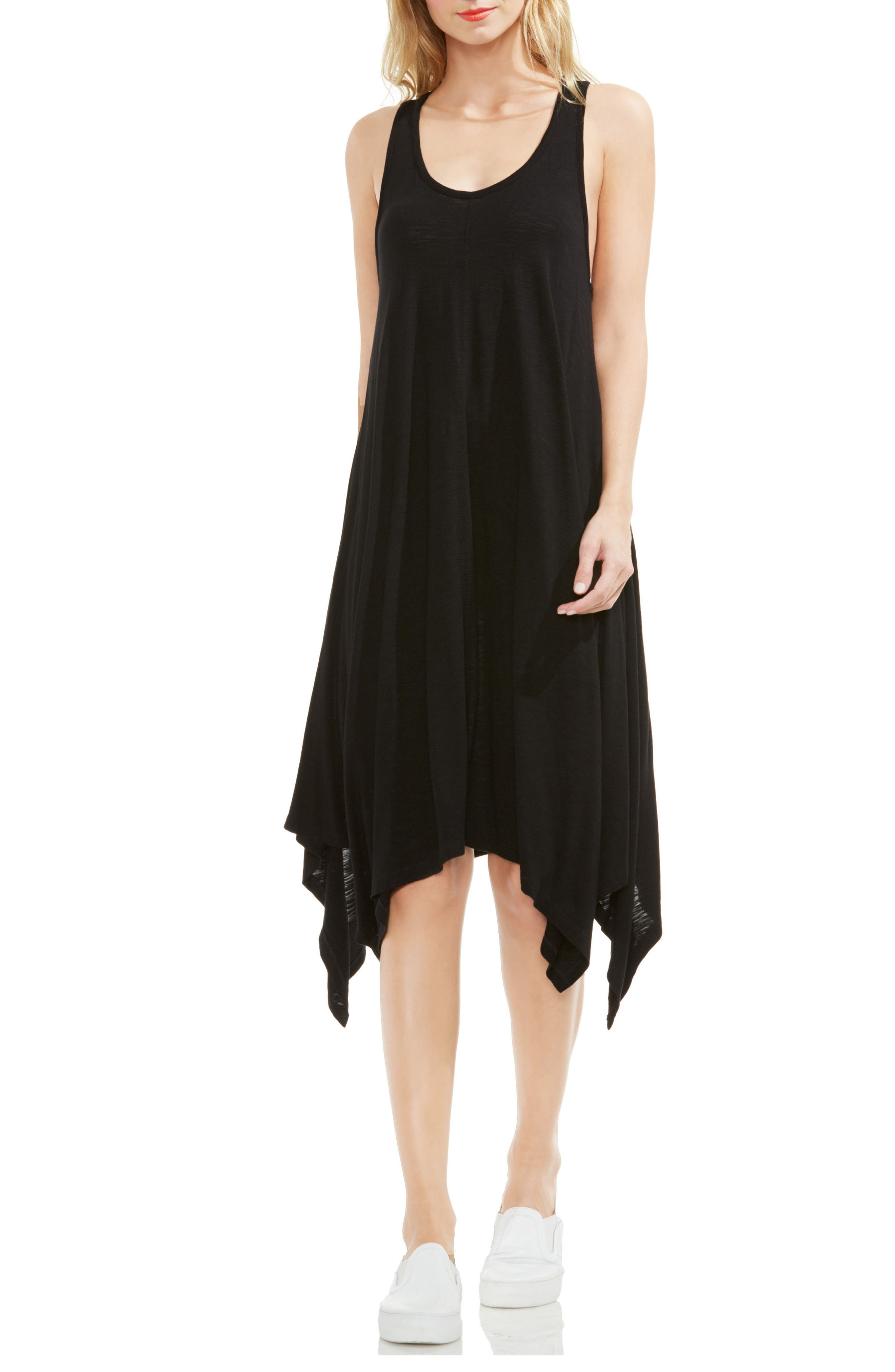 TWO BY VINCE CAMUTO Handkerchief Hem Tank Dress
