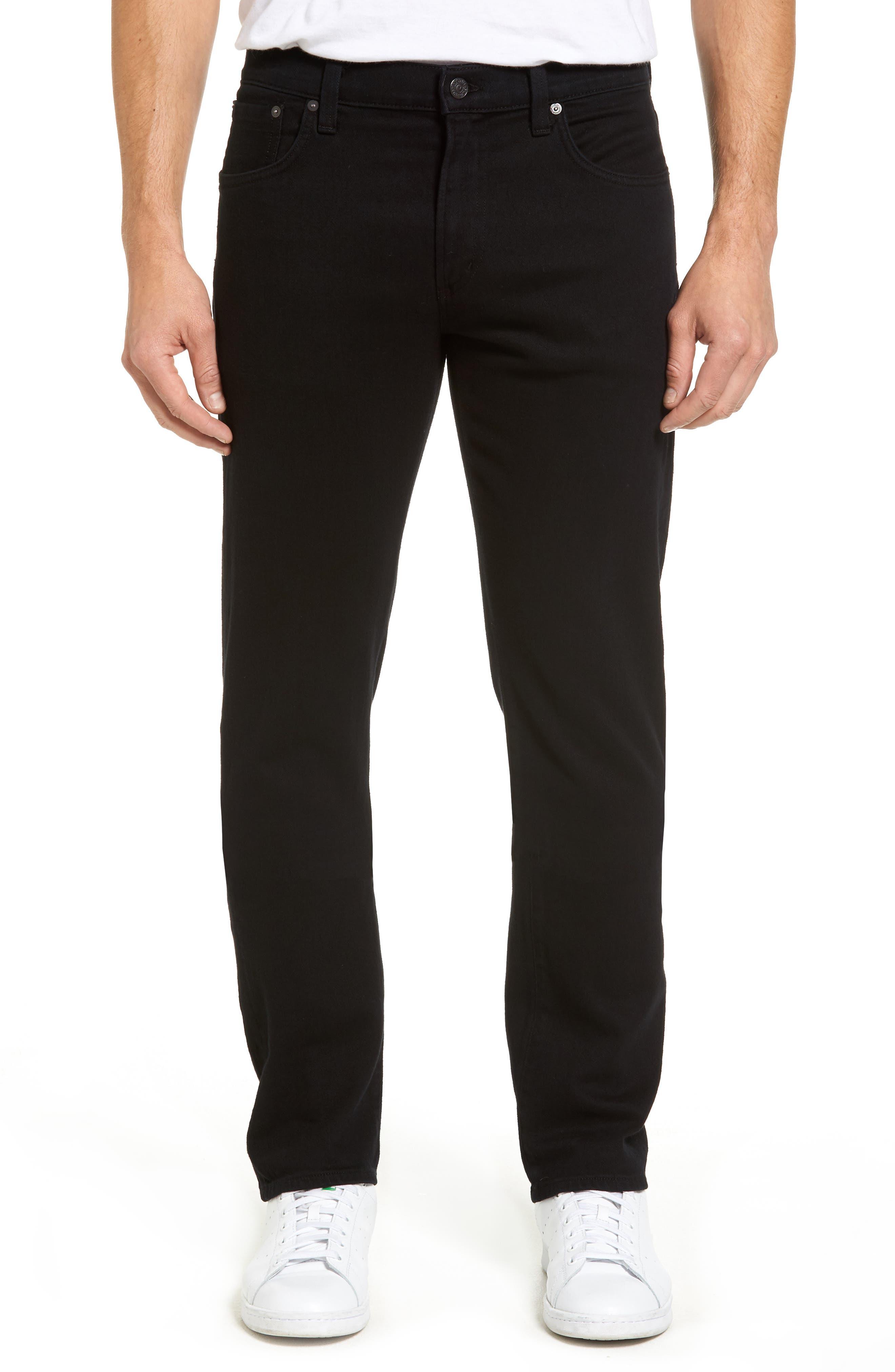 Core Slim Straight Leg Jeans,                         Main,                         color, Midnight