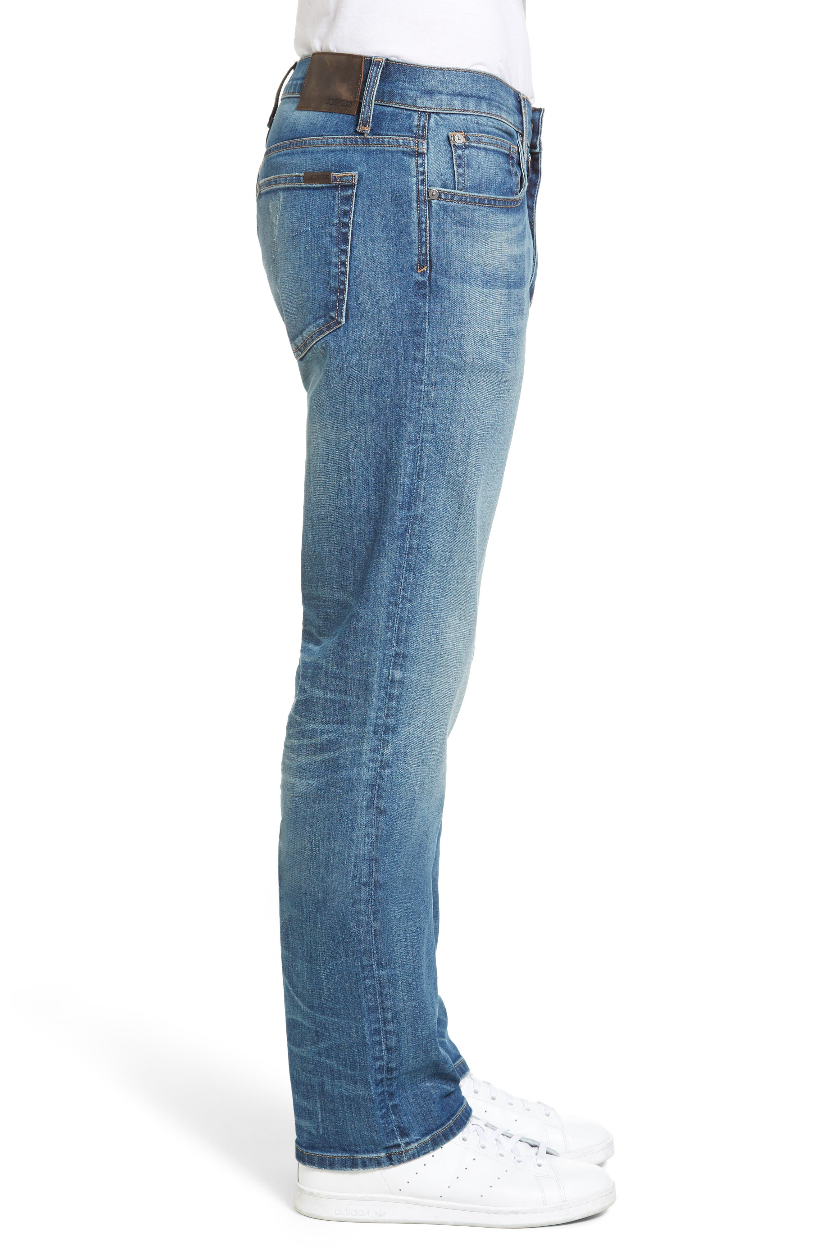 Classic Straight Fit Jeans,                             Alternate thumbnail 3, color,                             Westley