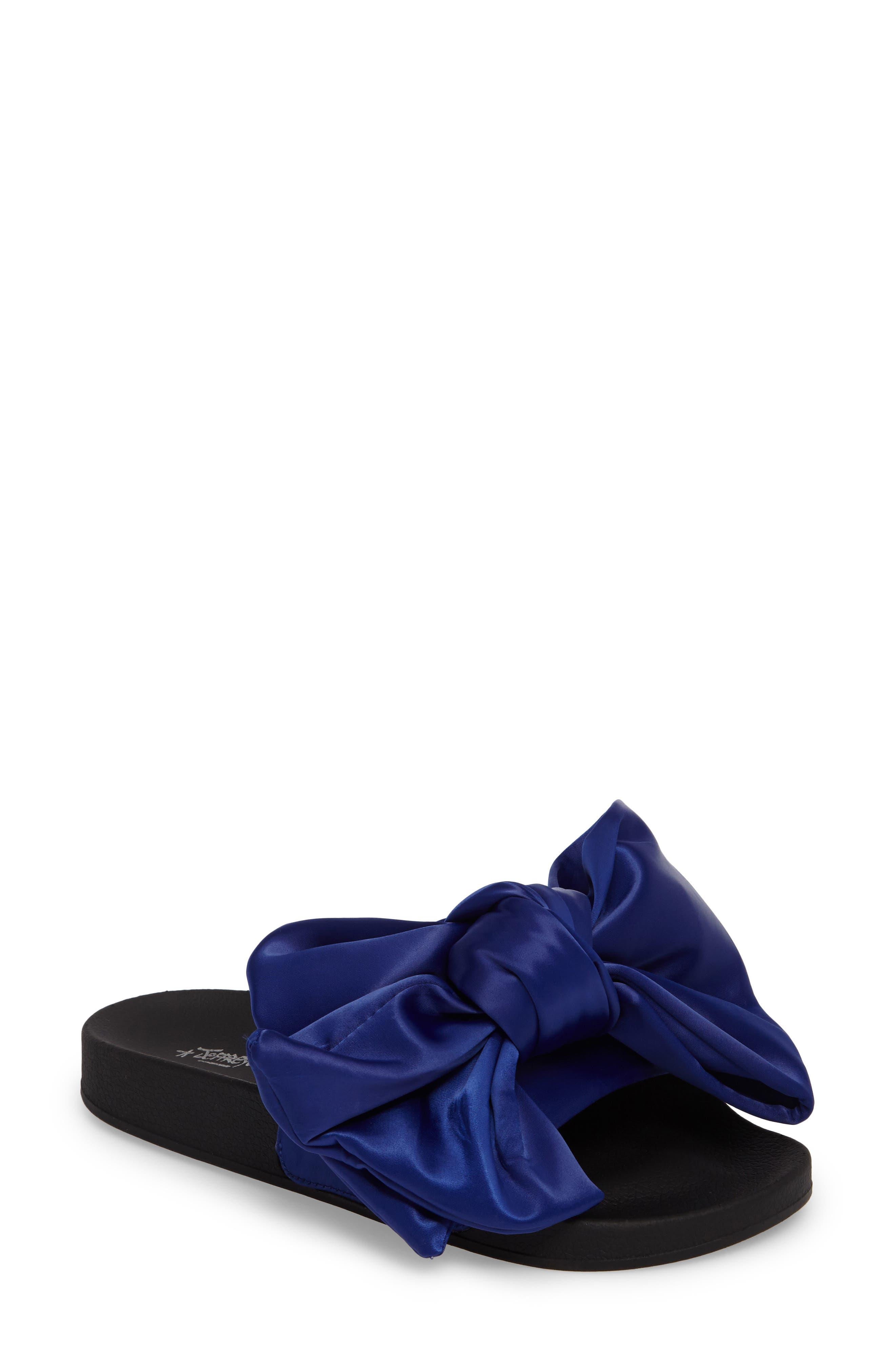JEFFREY CAMPBELL Jova-Bow Slide Sandal