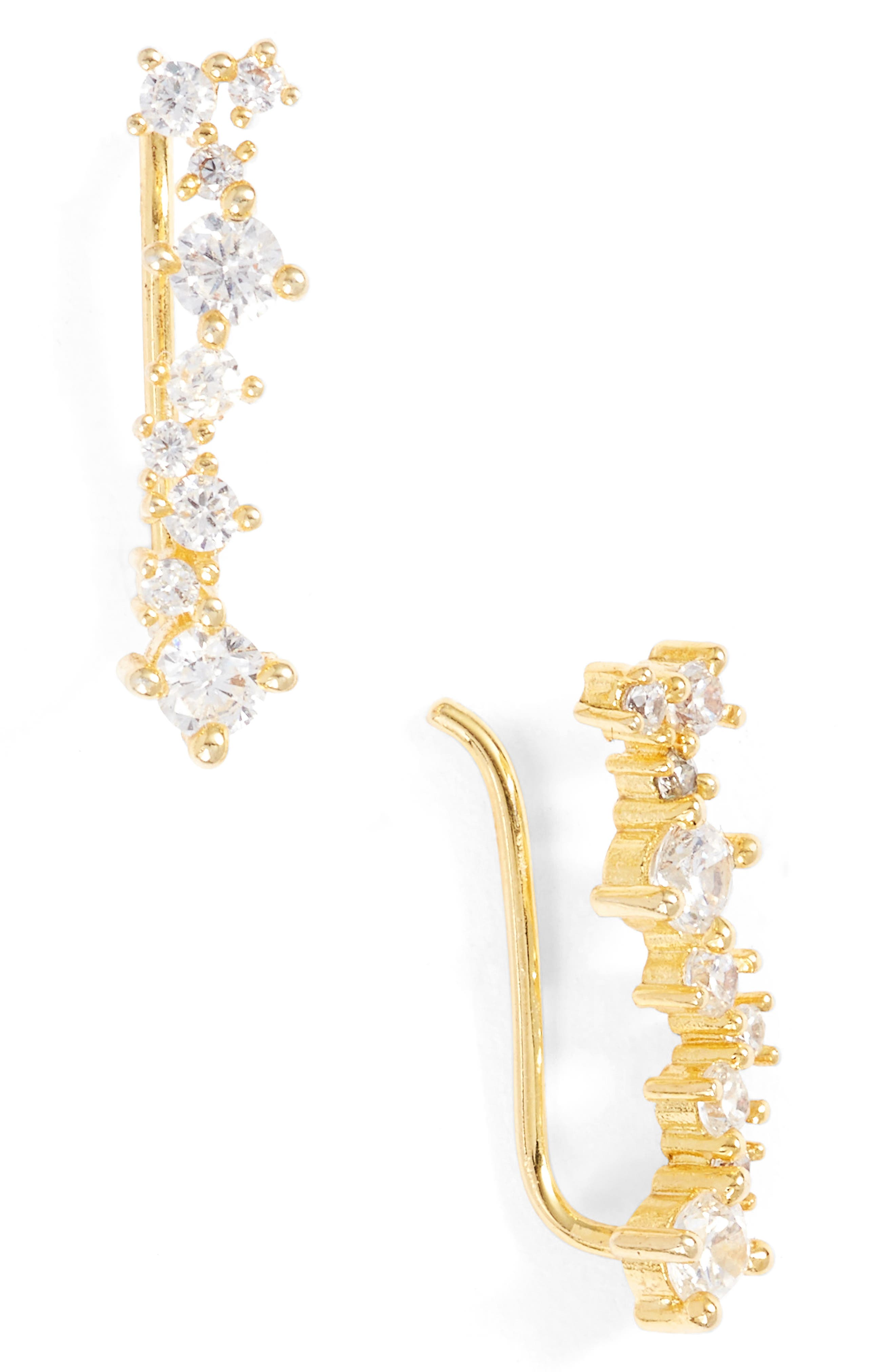 Tracey Ear Crawlers,                         Main,                         color, Gold