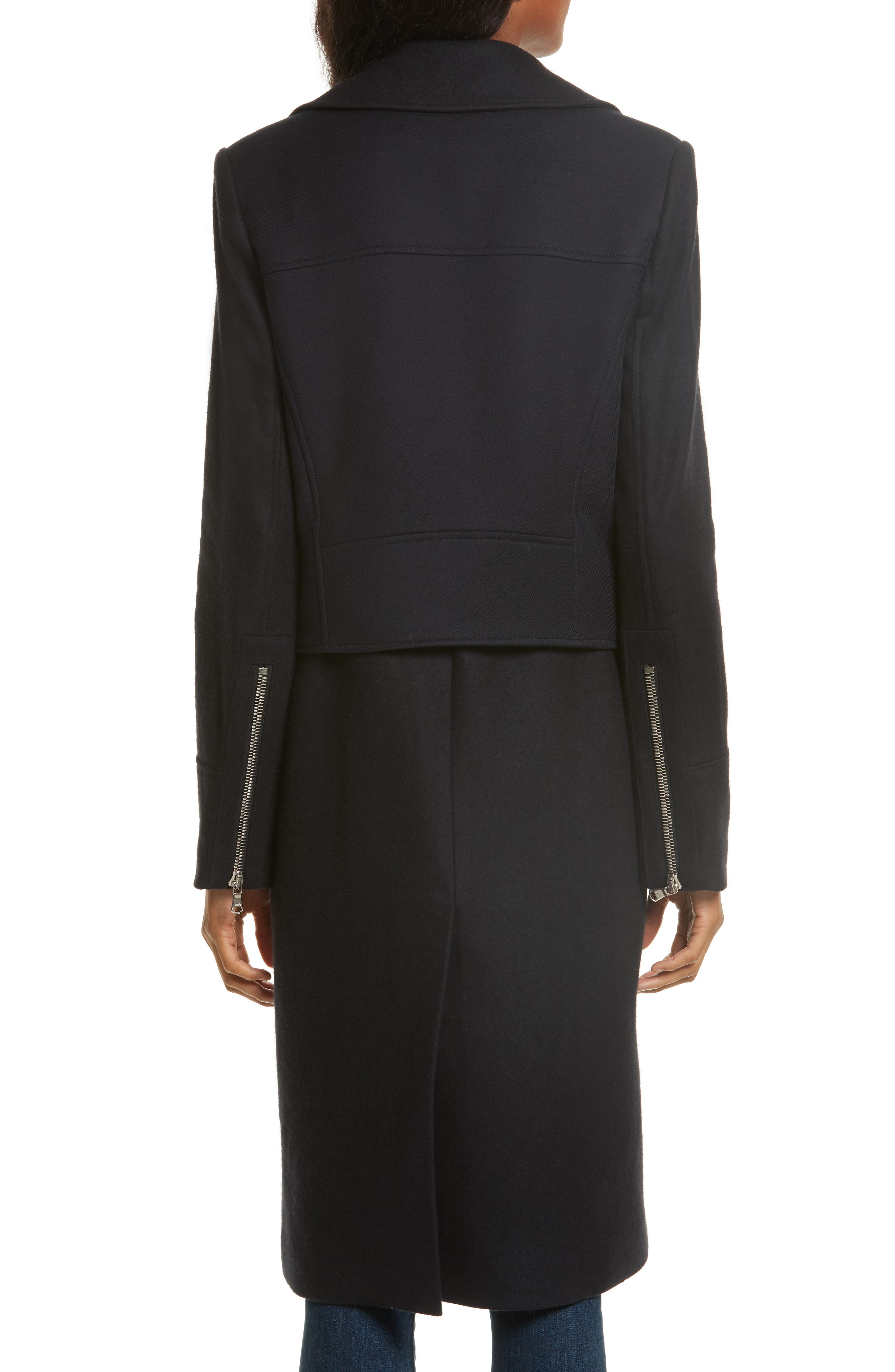 Alternate Image 3  - Veronica Beard Alcott Wool & Cashmere Blend Vest Coat