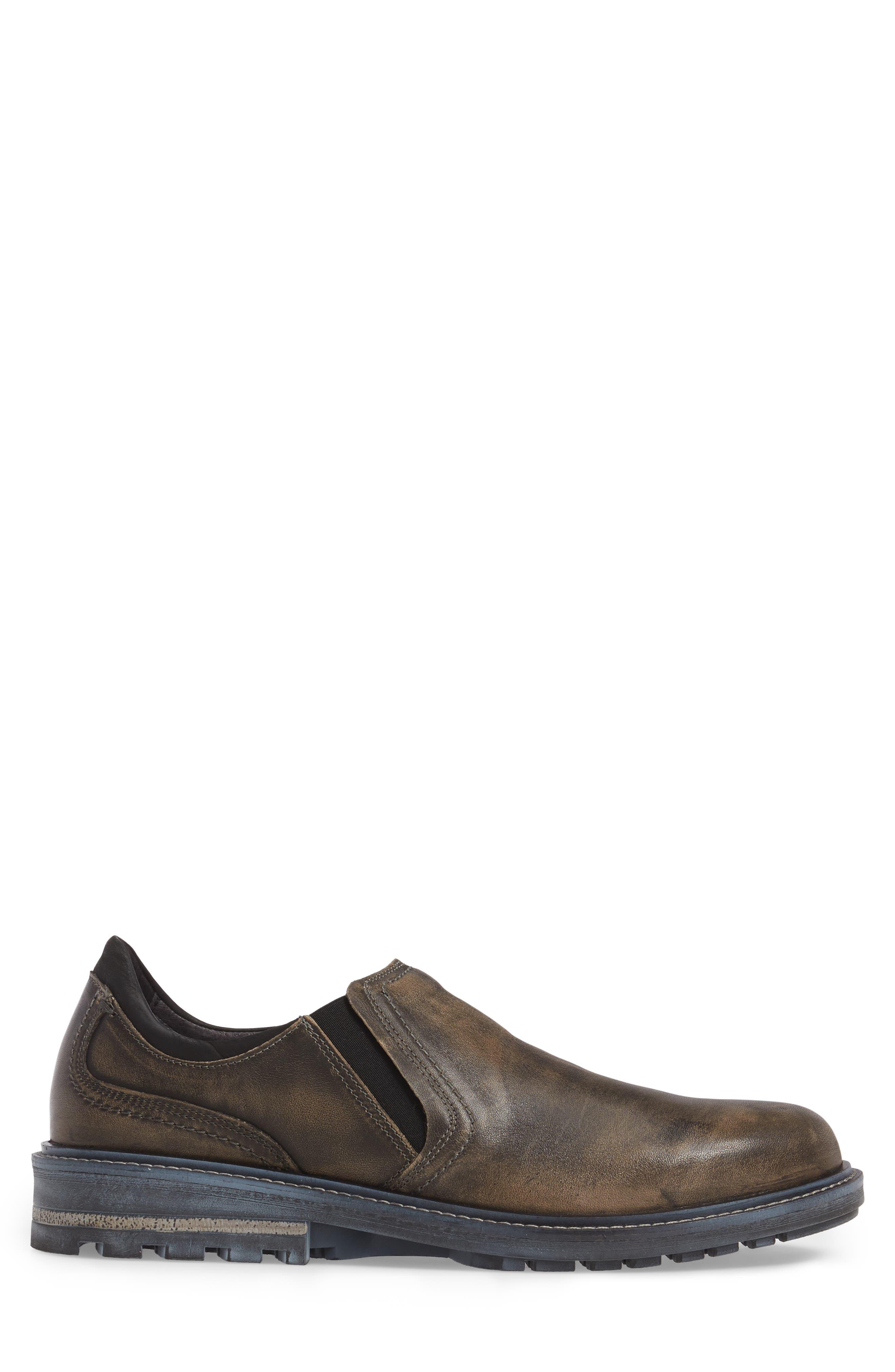 Manyara Slip-On Loafer,                             Alternate thumbnail 3, color,                             Vintage Grey Leather