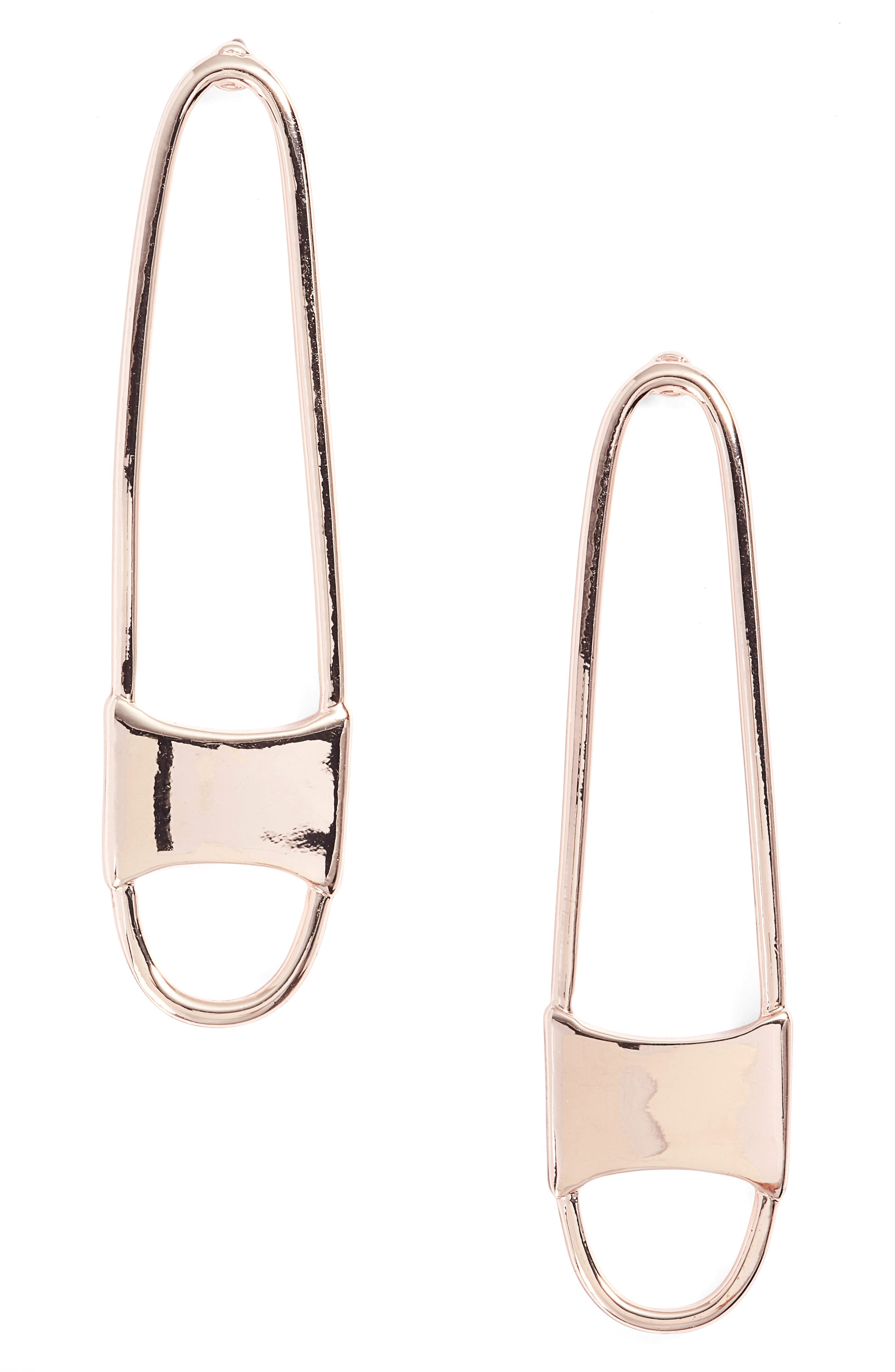 Alternate Image 1 Selected - Rebecca Minkoff Runway Pin Drop Earrings